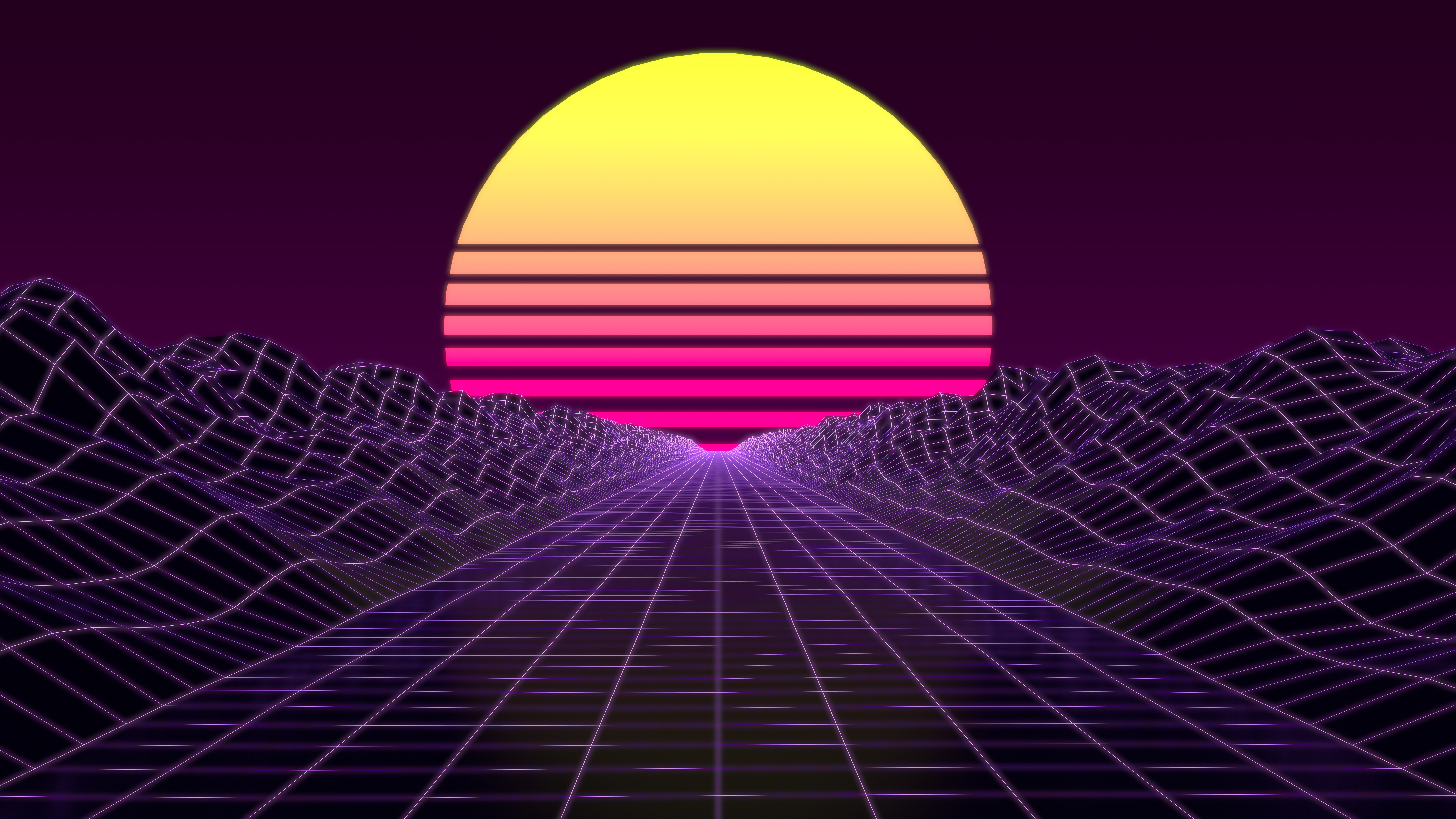 Synthwave 8k, HD Abstract, 4k Wallpapers, Images ...
