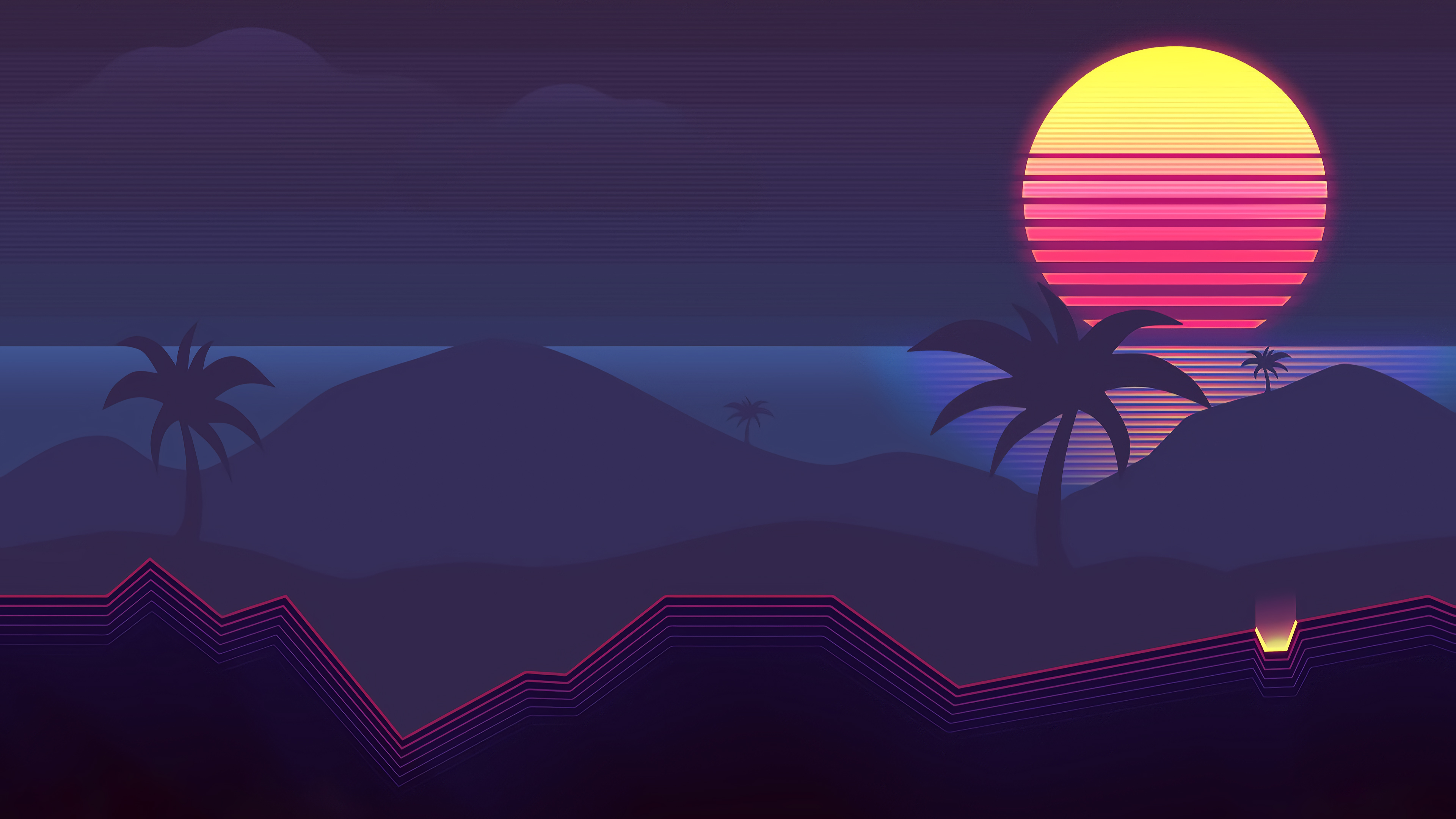 Synthwave Abstract 4k Hd Abstract 4k Wallpapers Images