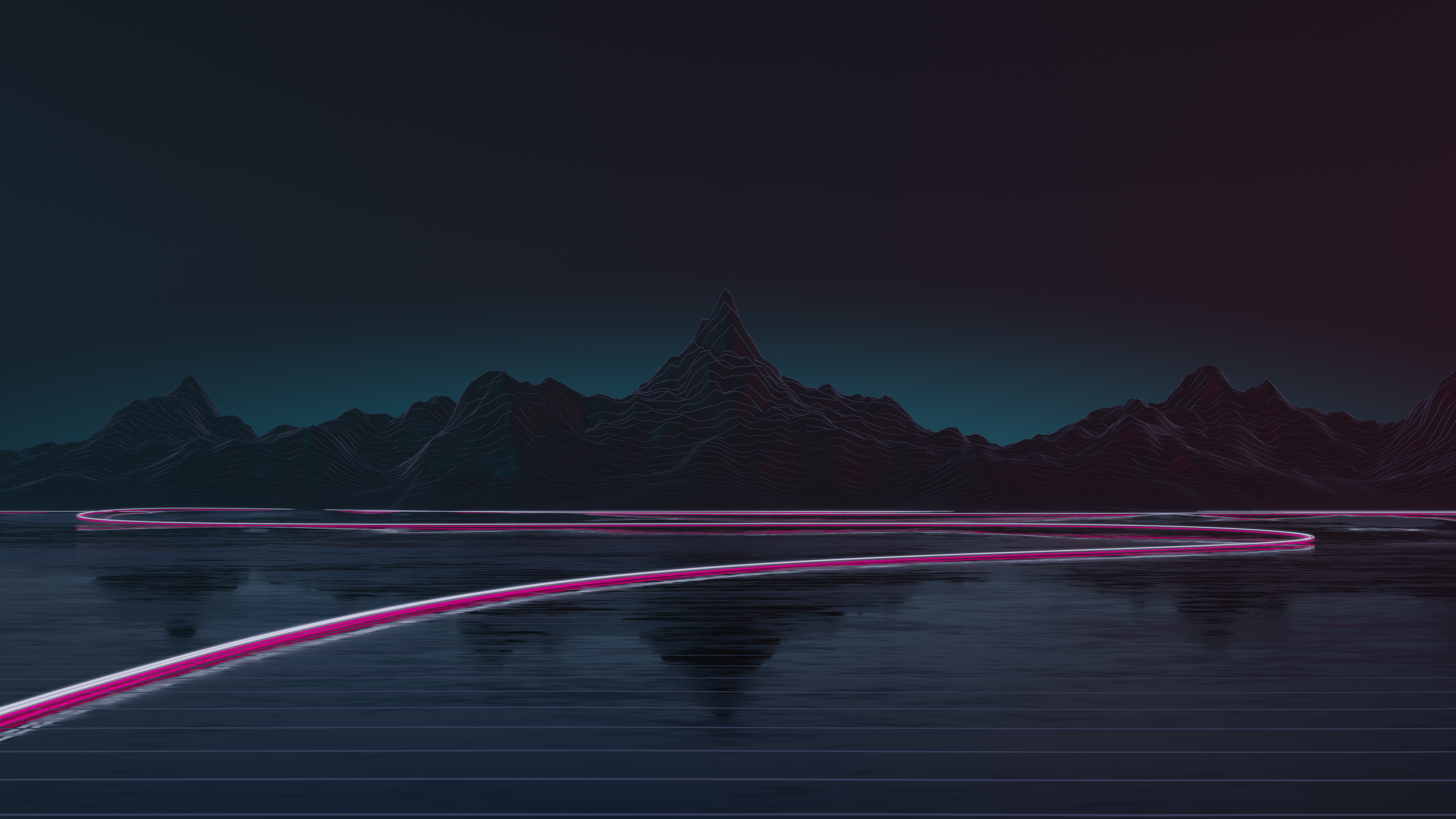 Synthwave Road 4k, HD Artist, 4k Wallpapers, Images ...