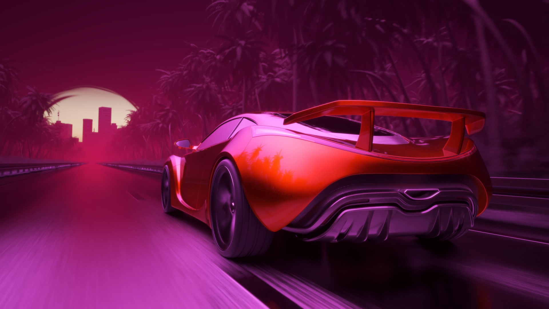 Sport Wallpapers For Iphone 6: 1080x1920 Synthwave Sport Car Artwork Iphone 7,6s,6 Plus