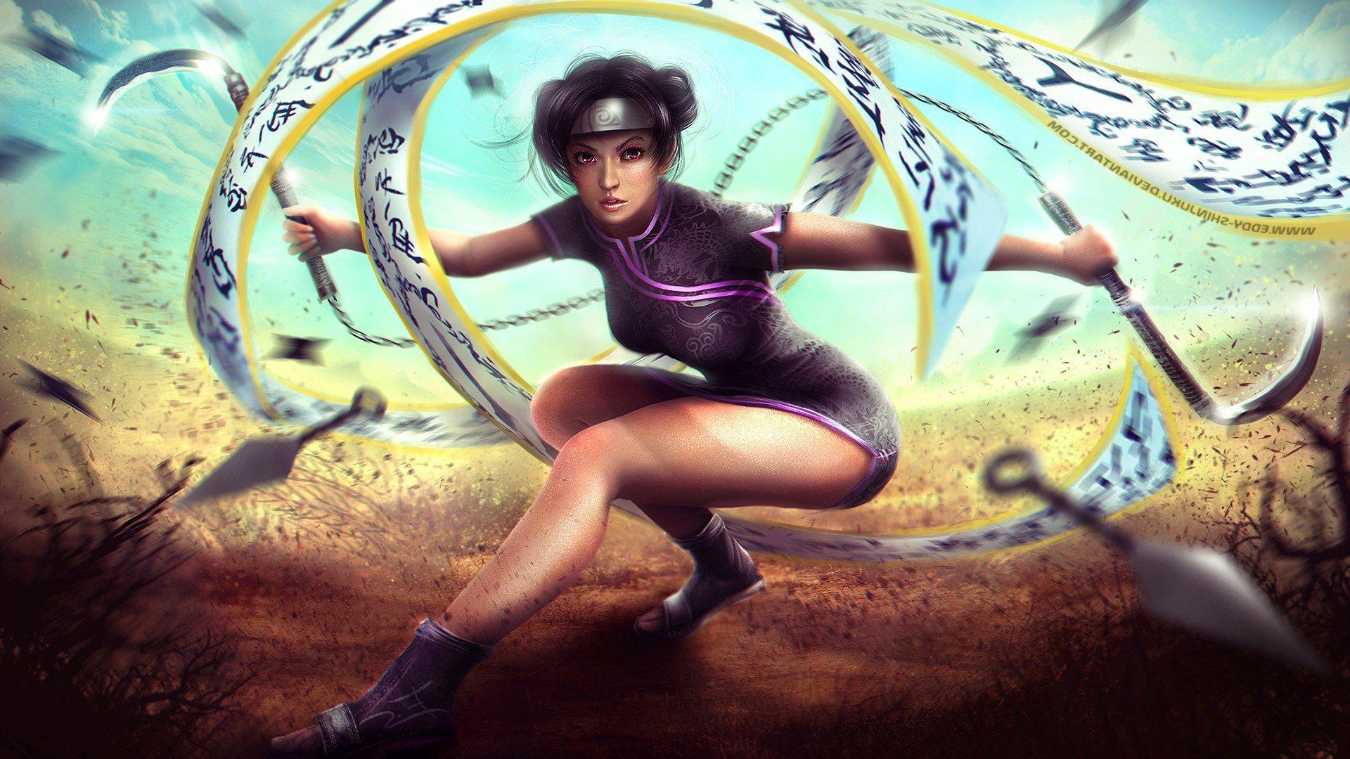 Tenten Naruto Shippuden Hd Fantasy Girls 4k Wallpapers Images