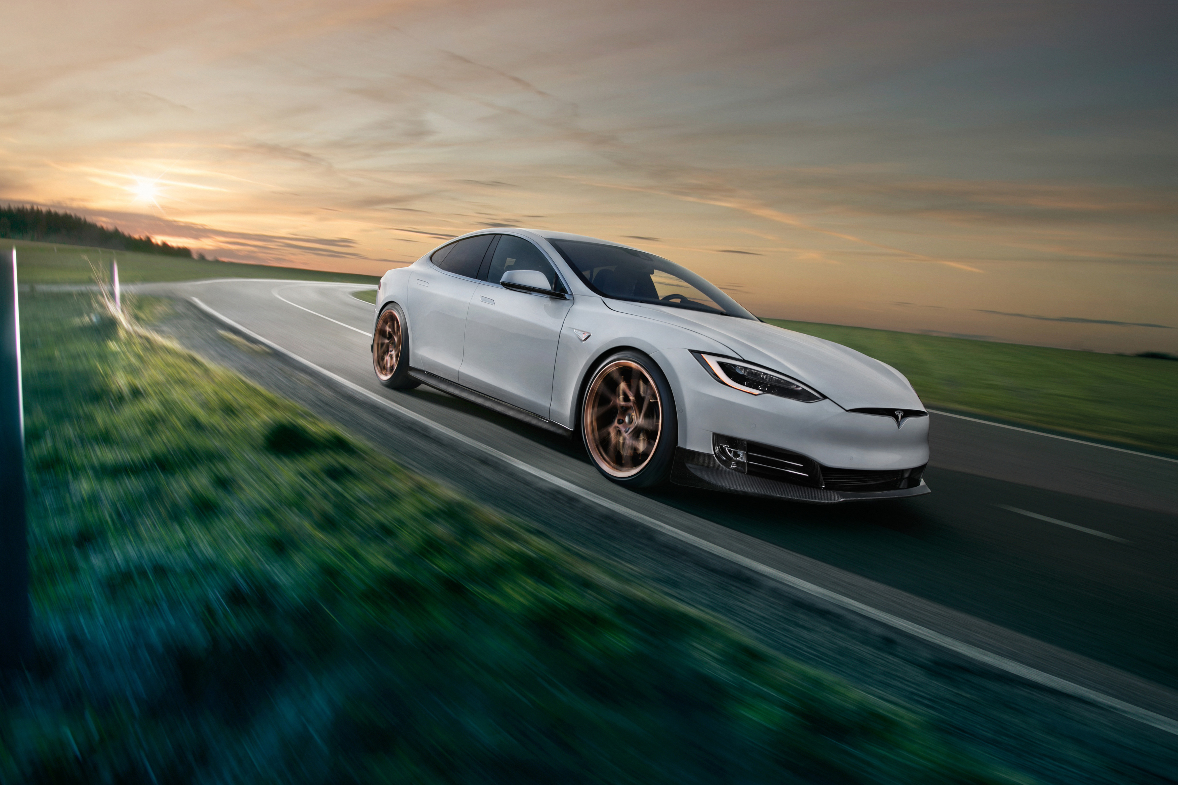 Tesla model s novitec hd cars 4k wallpapers images backgrounds photos and pictures - Tesla wallpaper android ...