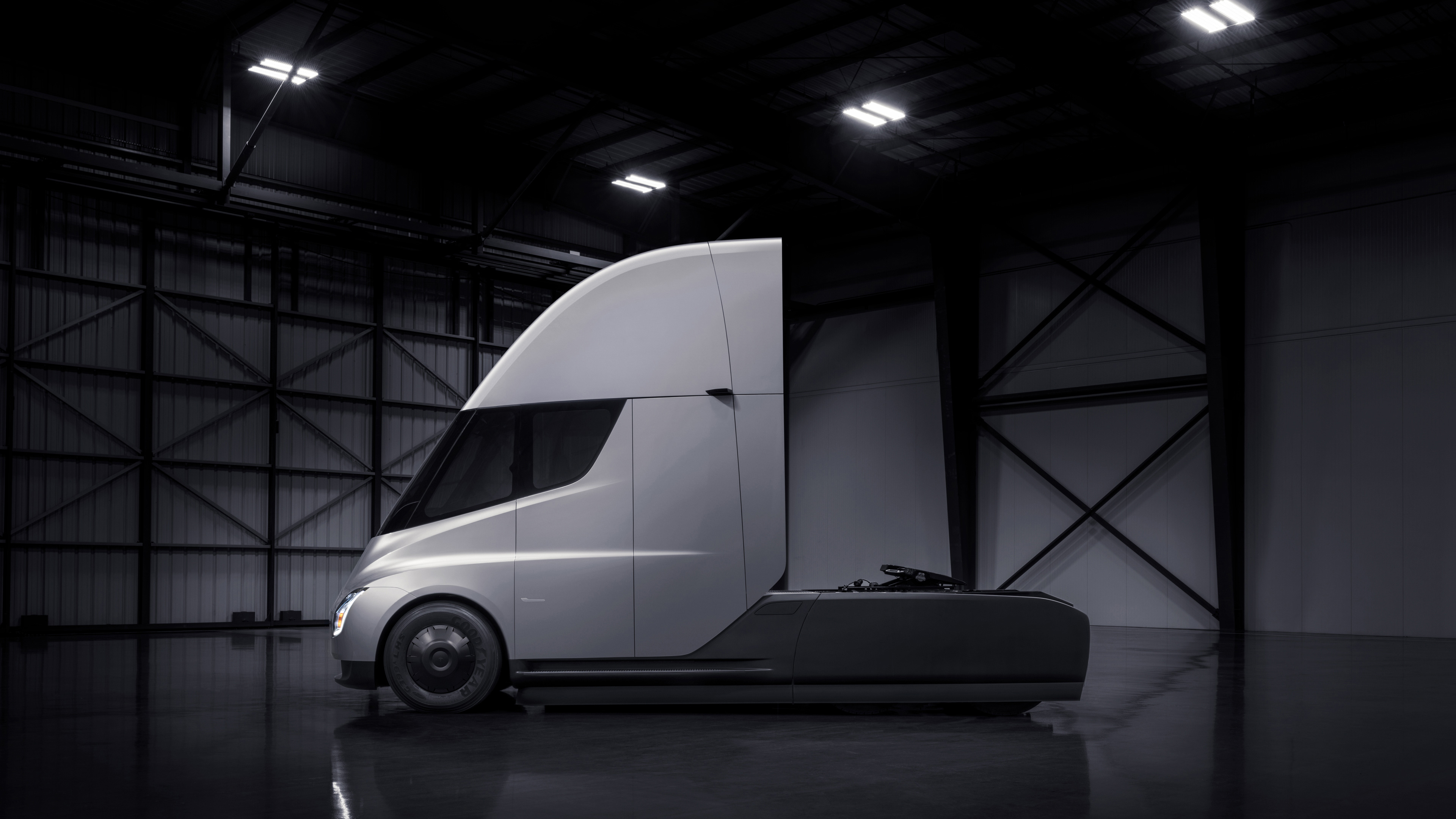 Tesla Semi Truck HD Cars 4k Wallpapers Images Backgrounds