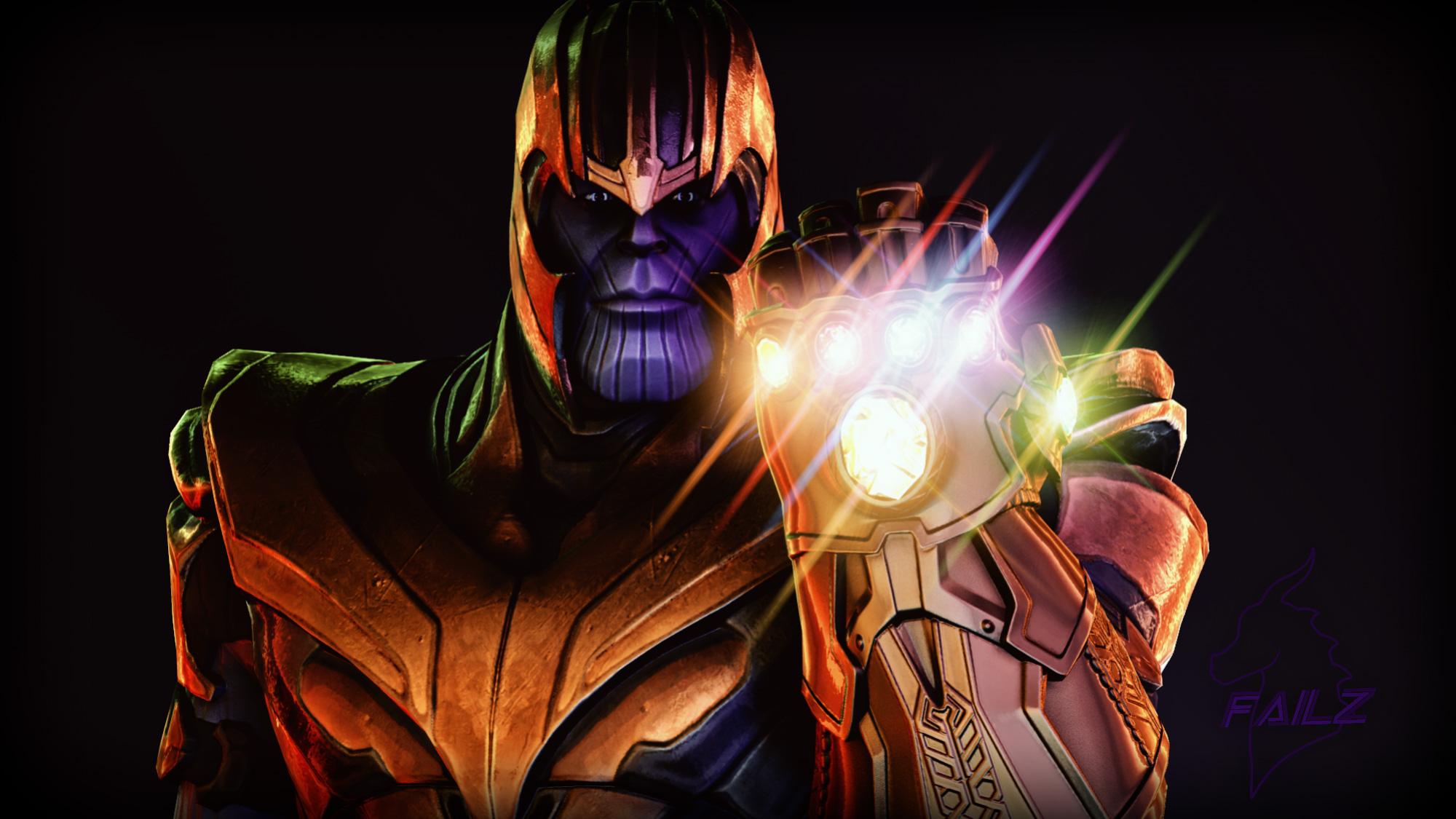 Wallpaper Thanos Avengers Infinity War Artwork Hd: Thanos Artwork 2018, HD Superheroes, 4k Wallpapers, Images