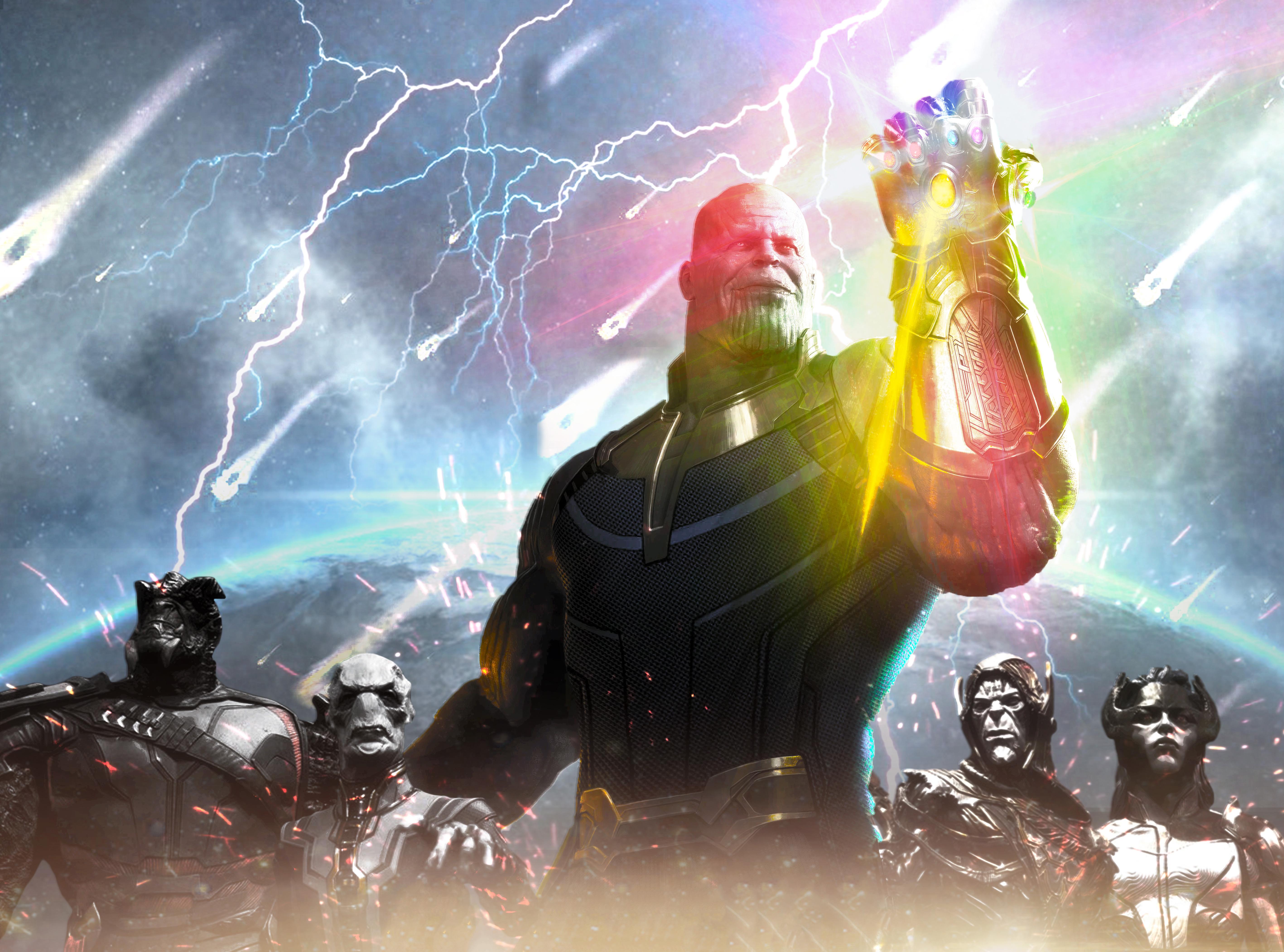 Wallpaper Thanos Avengers Infinity War Artwork Hd: Thanos Avengers Infinity War 2018 Artwork, HD Movies, 4k