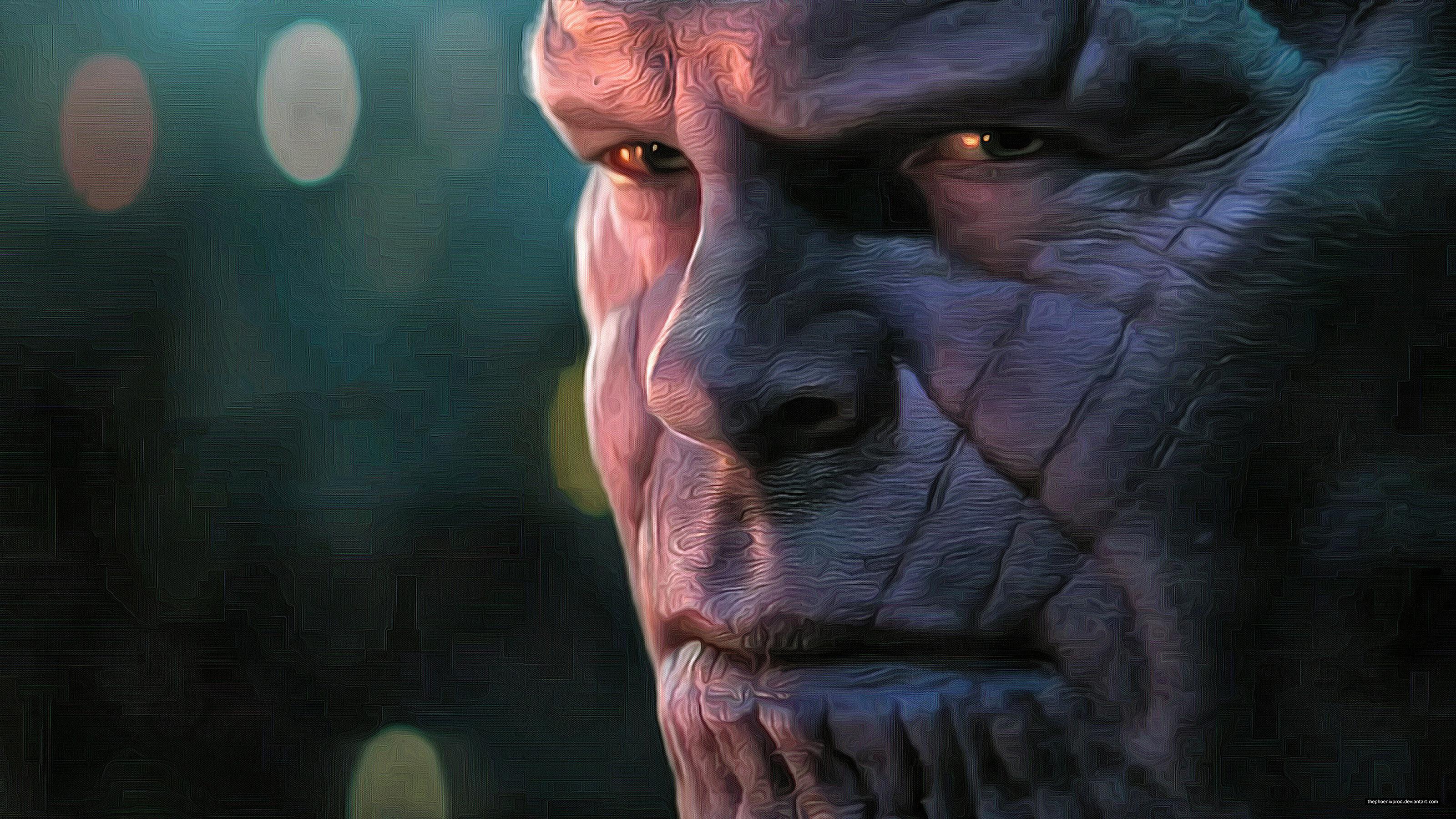 Wallpaper Thanos Avengers Infinity War Artwork Hd: Thanos In Avengers Infinity War 2018 4k Artwork, HD Movies