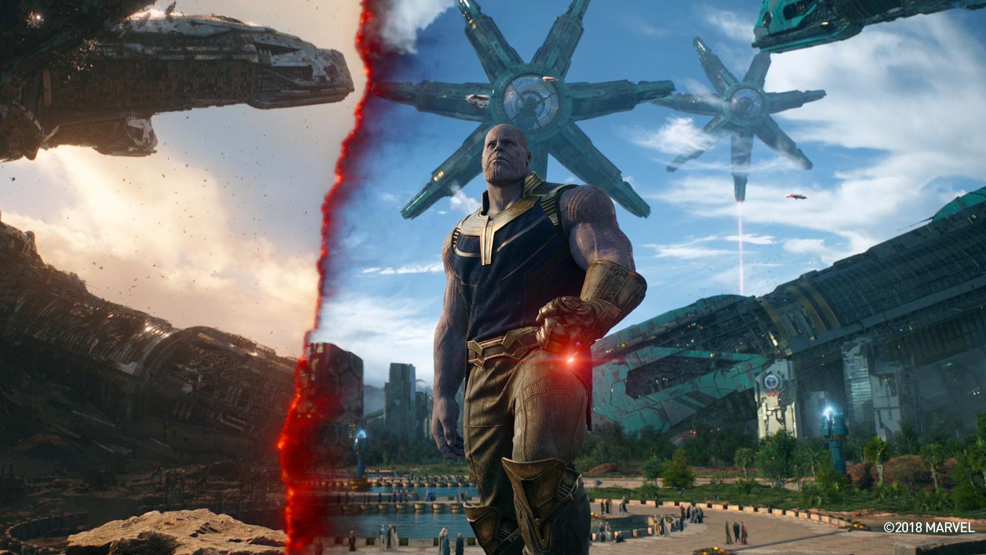 Hd Wallpaper Thanos In Avengers Infinity War 2018 Movie Hd