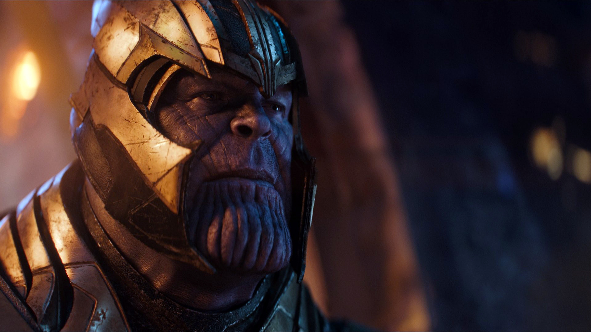 Wallpaper Thanos Avengers Infinity War Artwork Hd: Thanos In Avengers Infinity War Movie, HD Movies, 4k