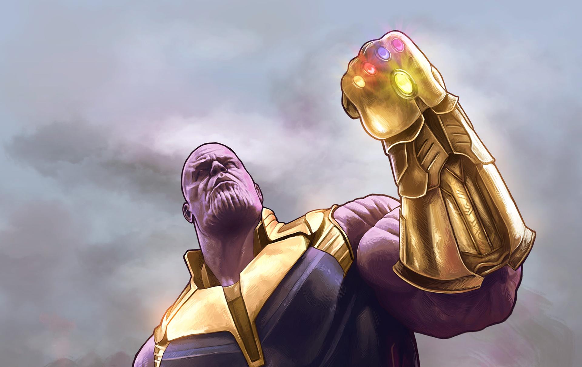 Thanos Infinity Gauntlet HD, HD Superheroes, 4k Wallpapers ... Thanos Infinity Gauntlet Movie