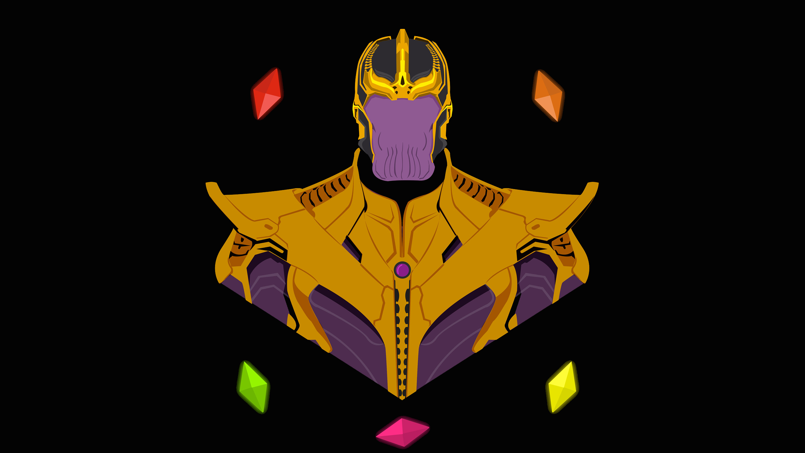 Thanos Infinity Stone Pop Art Hd Movies 4k Wallpapers Images