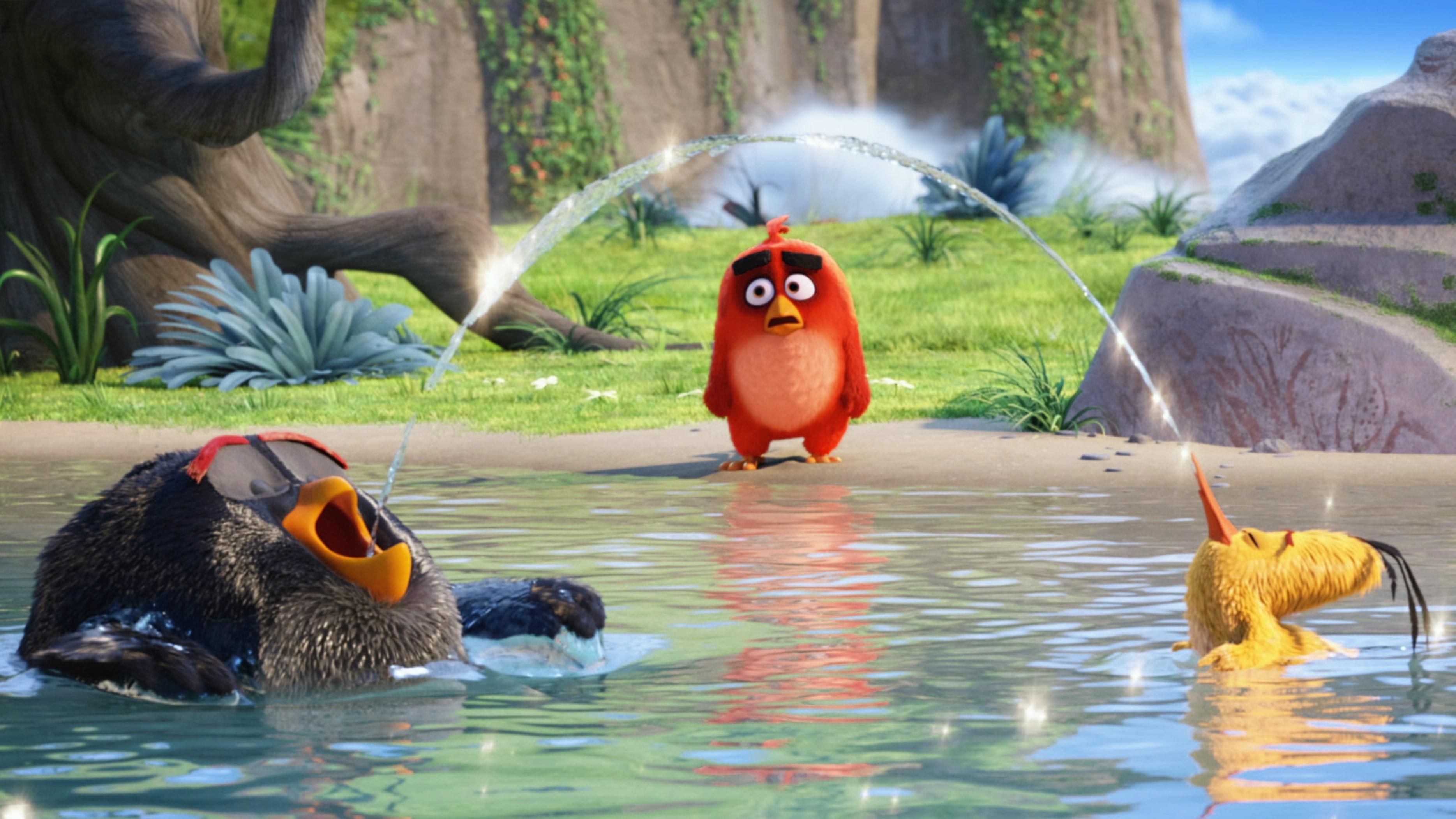 2048x2048 Deadpool 2 Movie Poster 4k Ipad Air Hd 4k: 2048x2048 The Angry Birds Movie Latest Ipad Air HD 4k