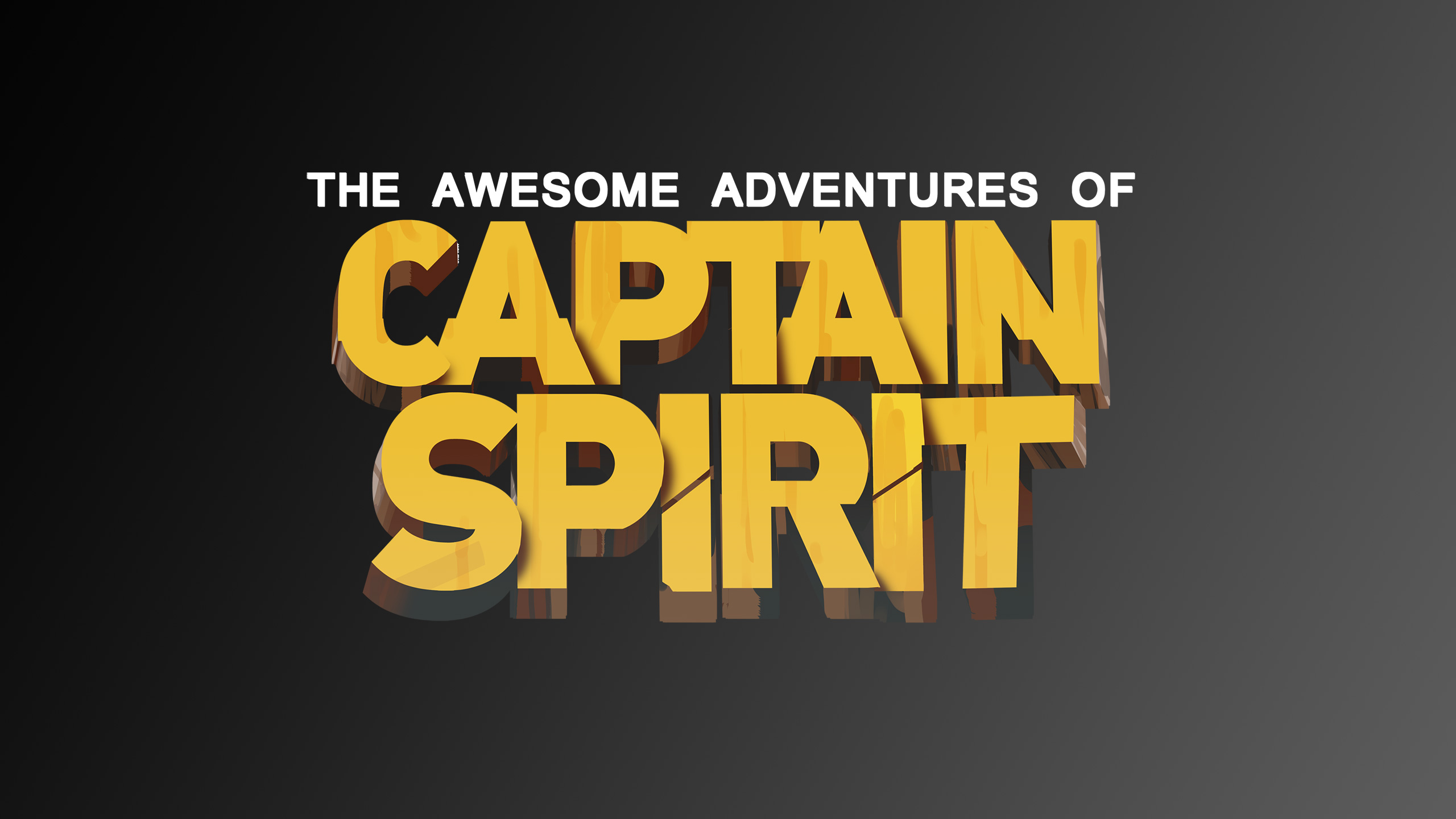 the awesome adventures of captain spirit logo, hd games, 4k