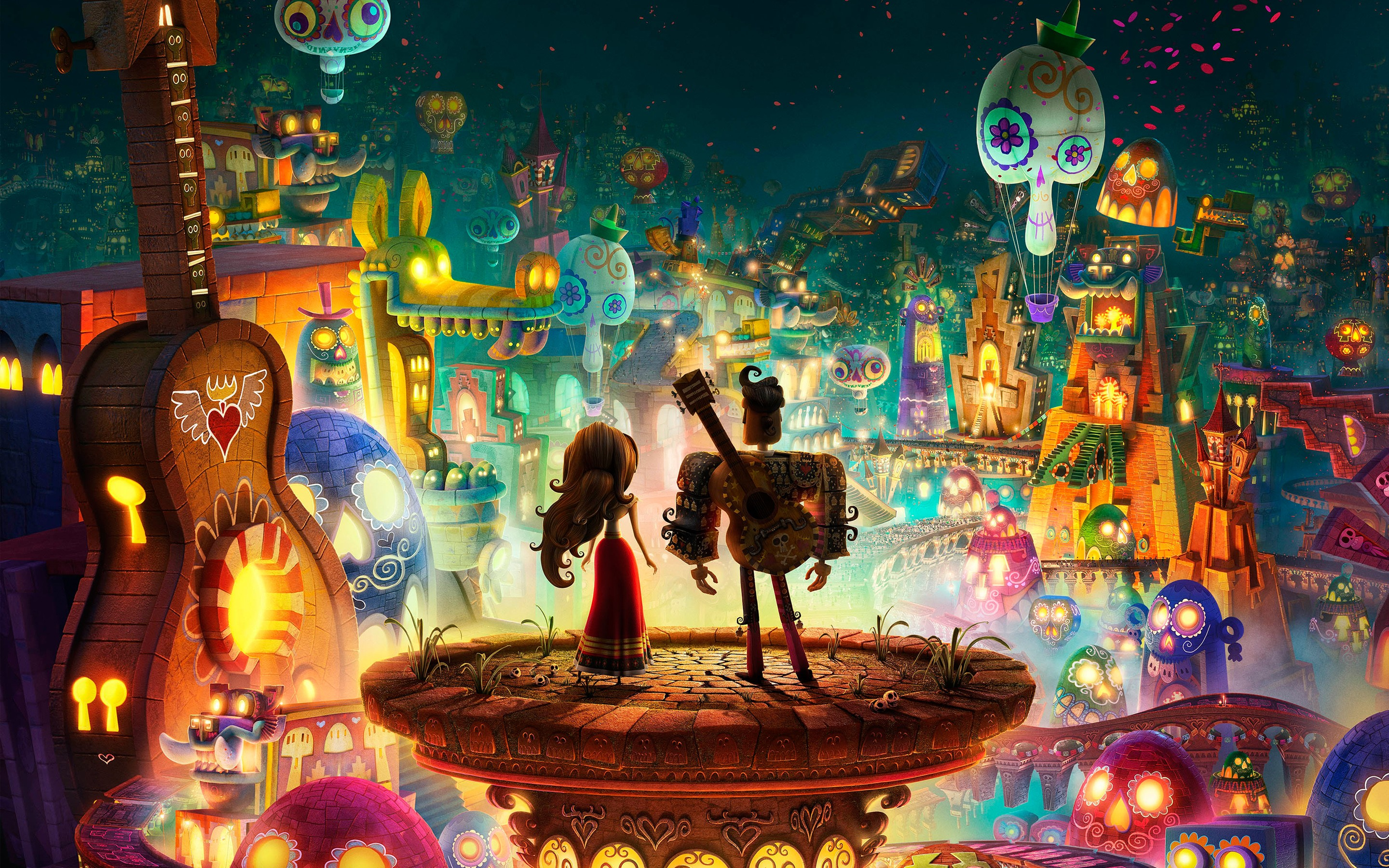 book of life wallpaper  The Book Of Life Movie HD, HD Movies, 4k Wallpapers, Images ...