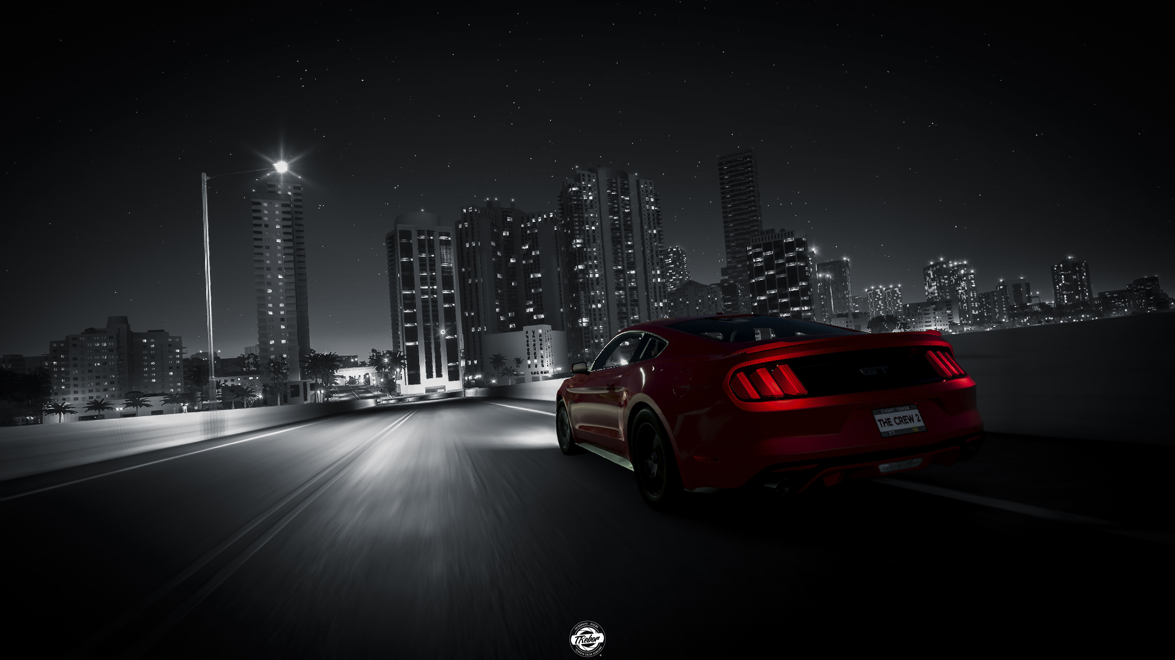 3d Driving Games Download >> The Crew 2 Ford Mustang Rear Lights 4k, HD Games, 4k Wallpapers, Images, Backgrounds, Photos and ...