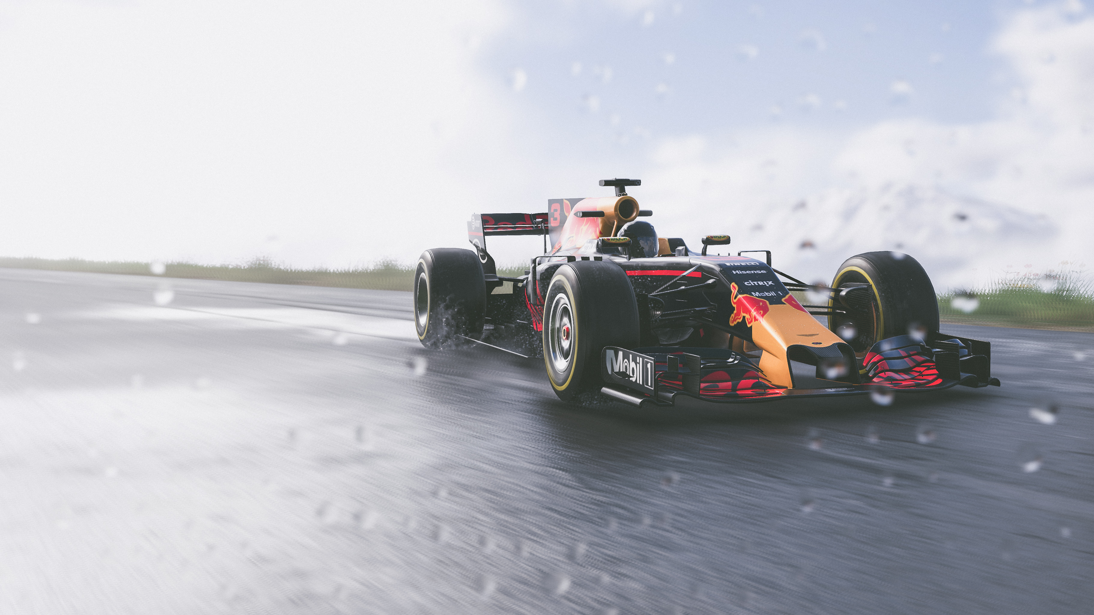 The Crew 2 Red Bull F1 Car 4k Hd Games 4k Wallpapers