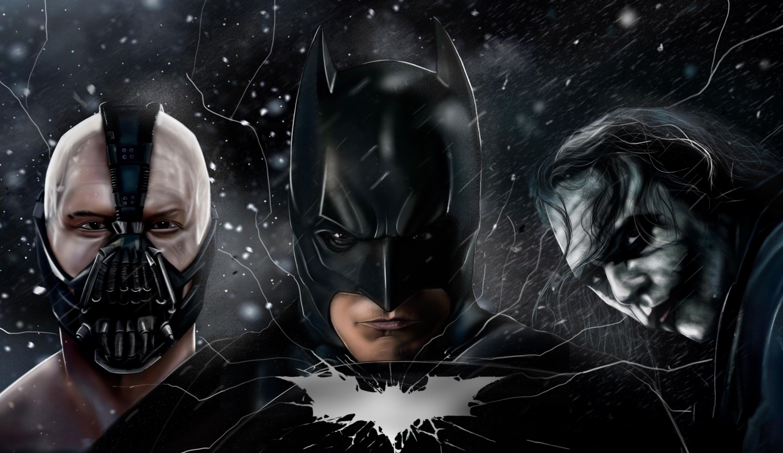 The Dark Knight Batman Joker Bane 5k