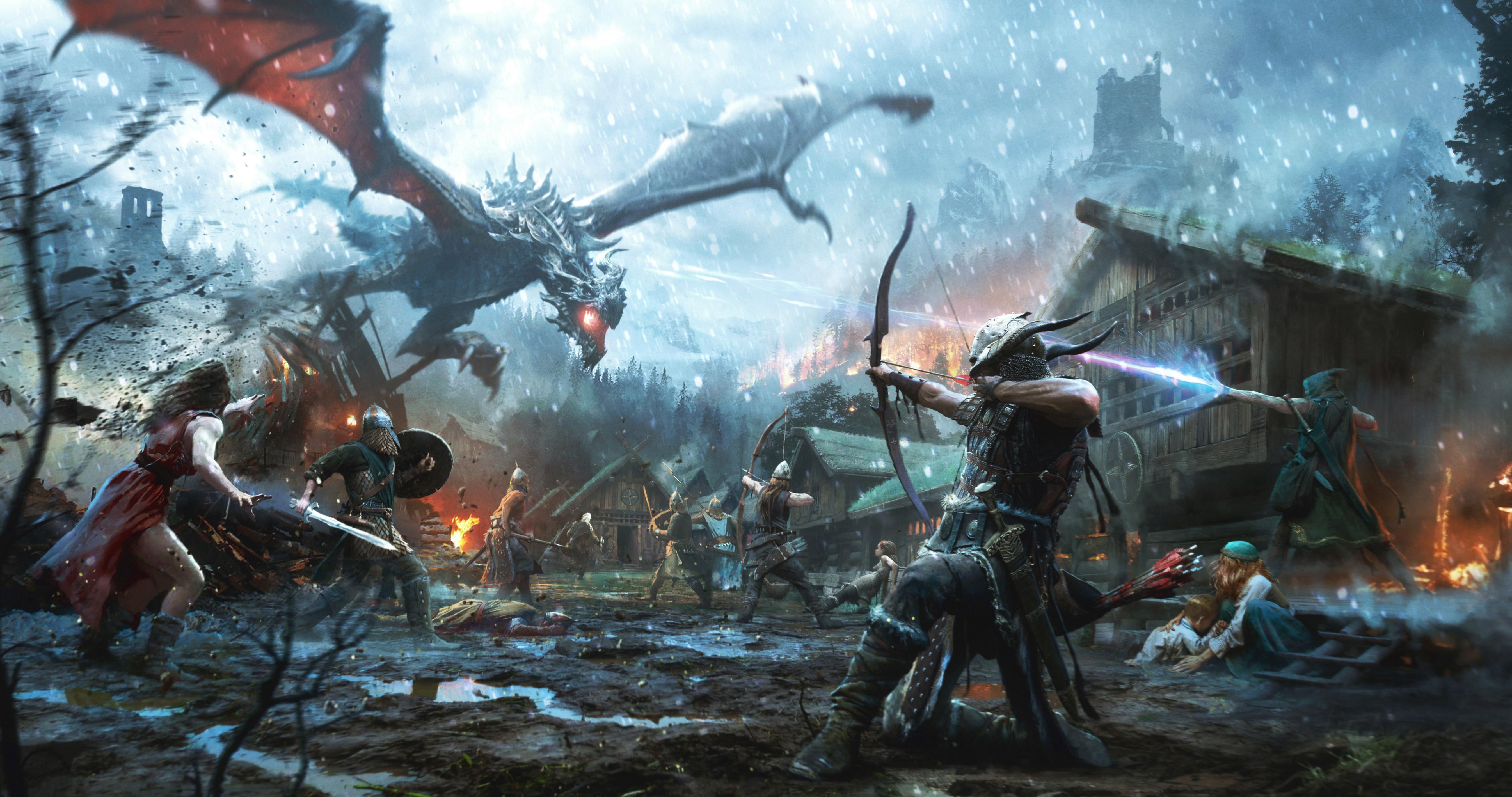 The Elder Scrolls Legends Heroes Of Skyrim, HD Games, 4k