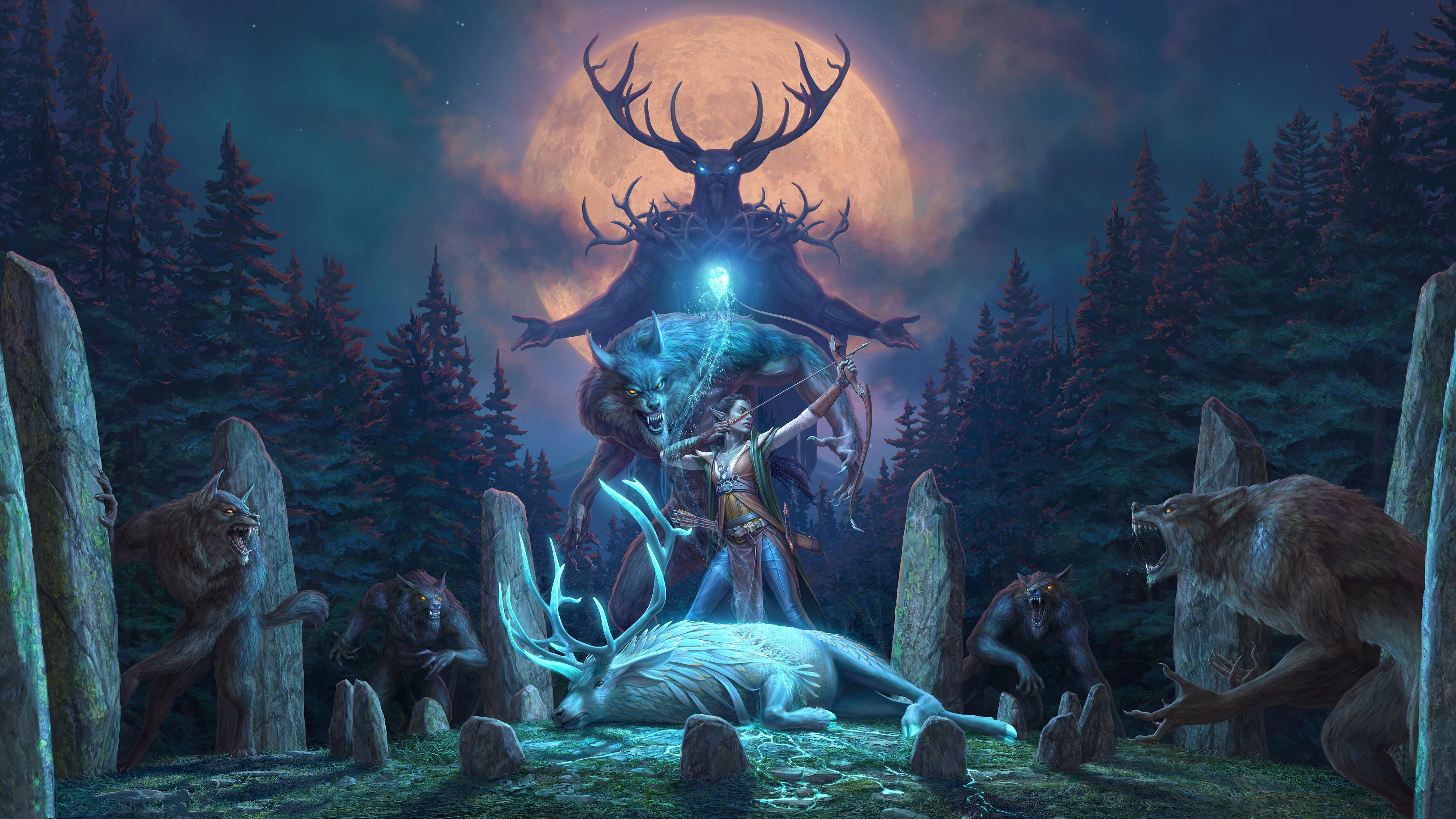 The Elder Scrolls Online Wolfhunter Dlc 2018 5k Hd Games