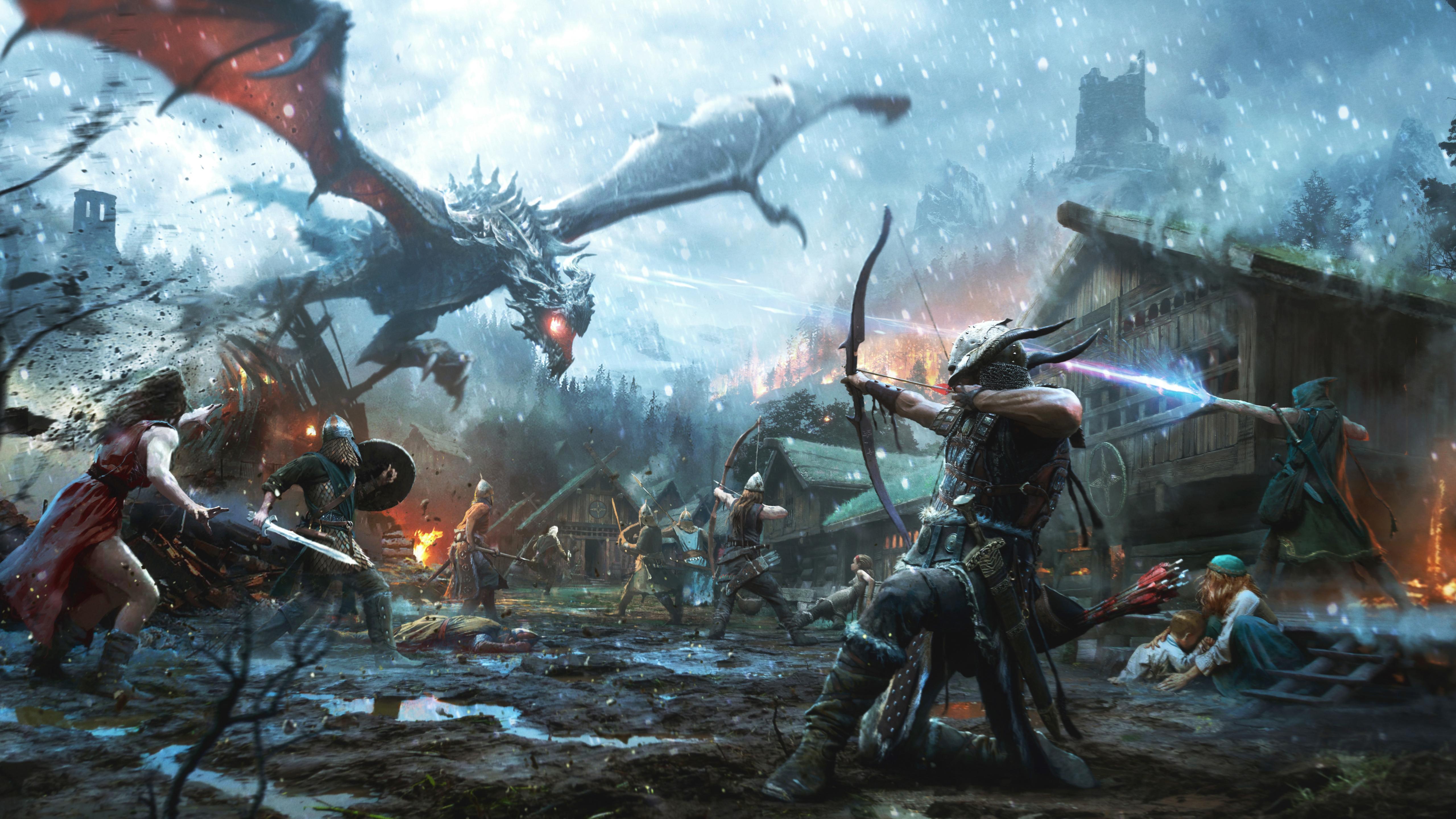 The Elder Scrolls Video Game 4k, HD Games, 4k Wallpapers ...