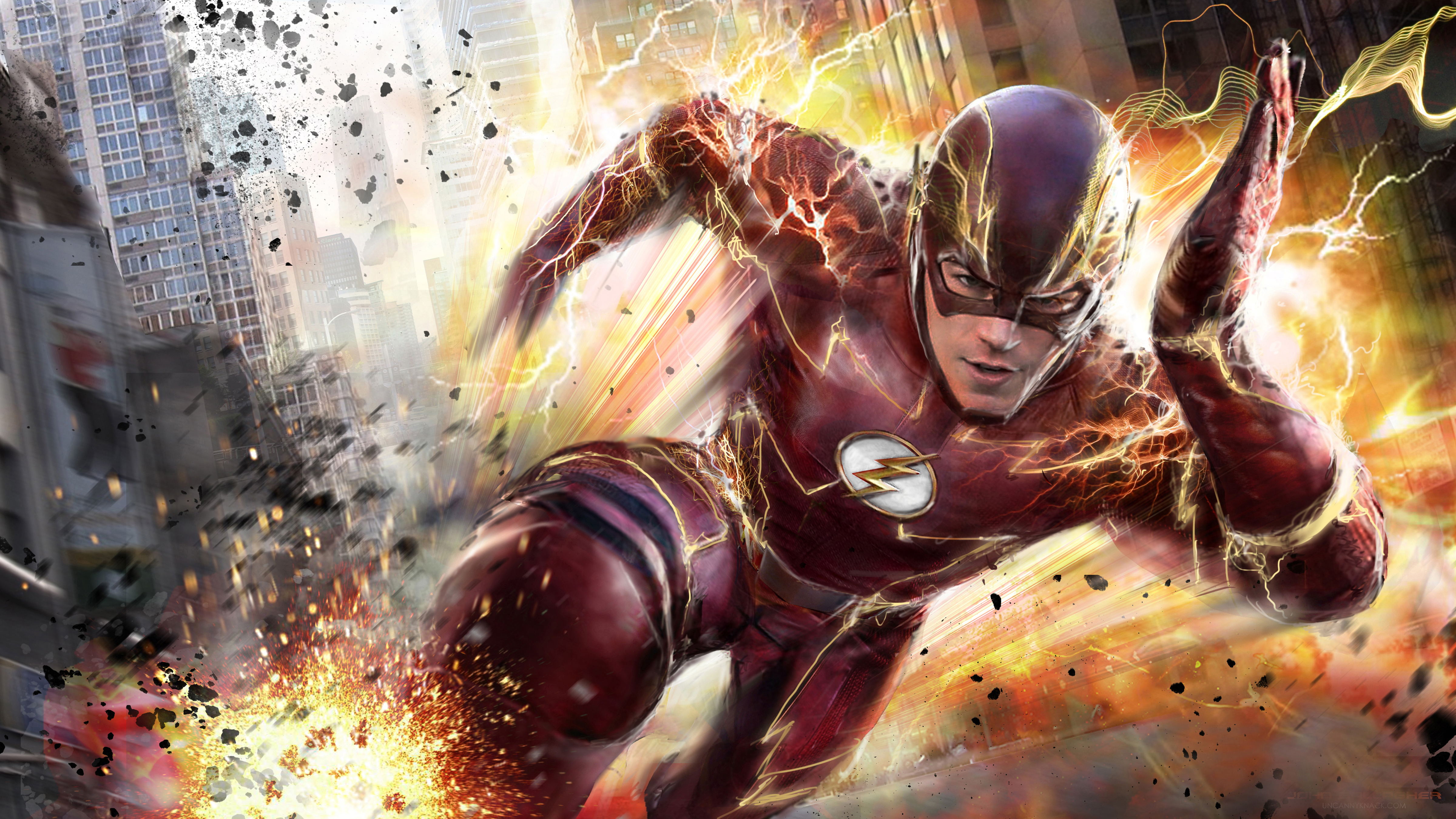 The flash 4k hd tv shows 4k wallpapers images - Tv series wallpaper 4k ...