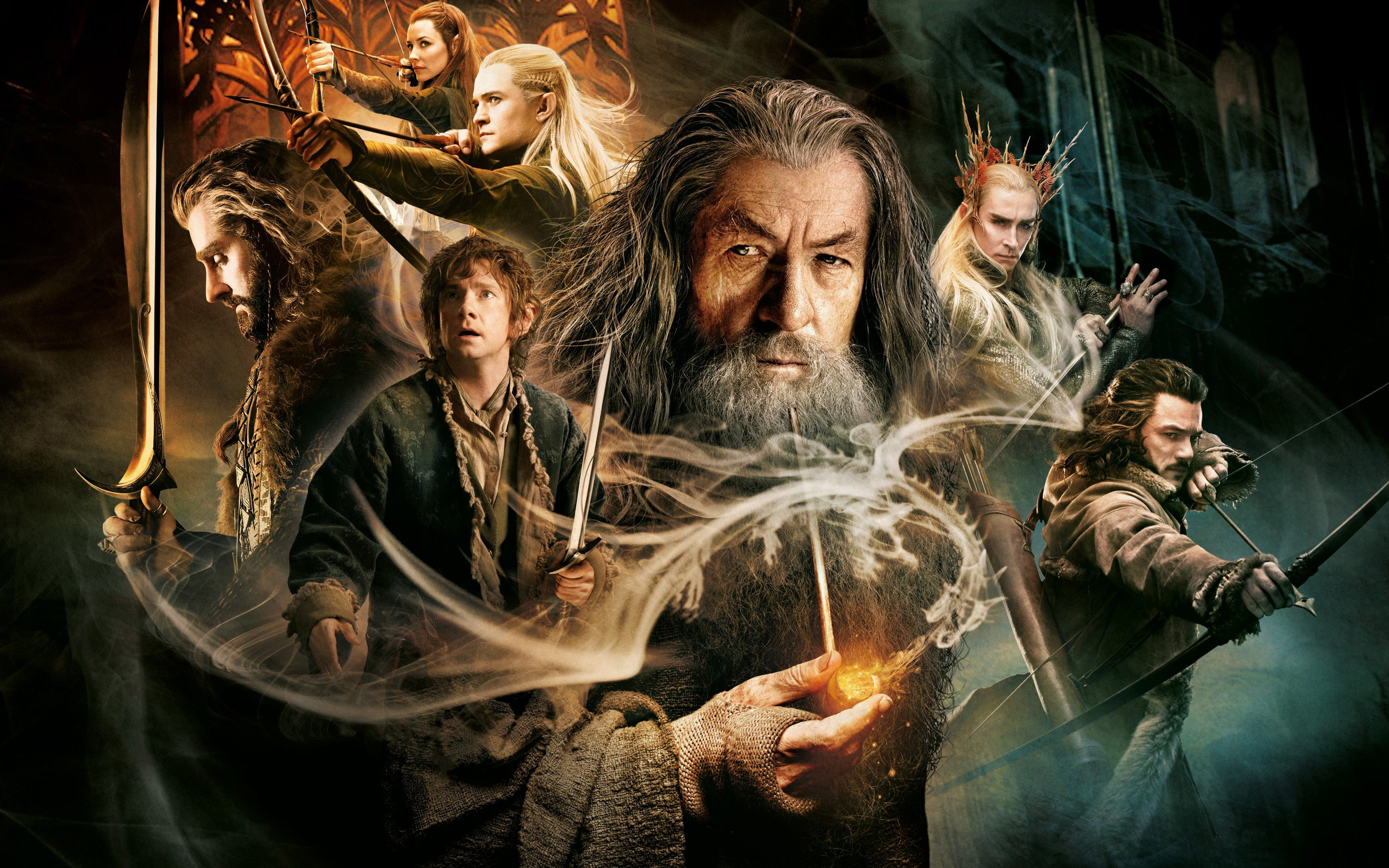 The Hobbit The Desolation Of Smaug, HD Movies, 4k Wallpapers