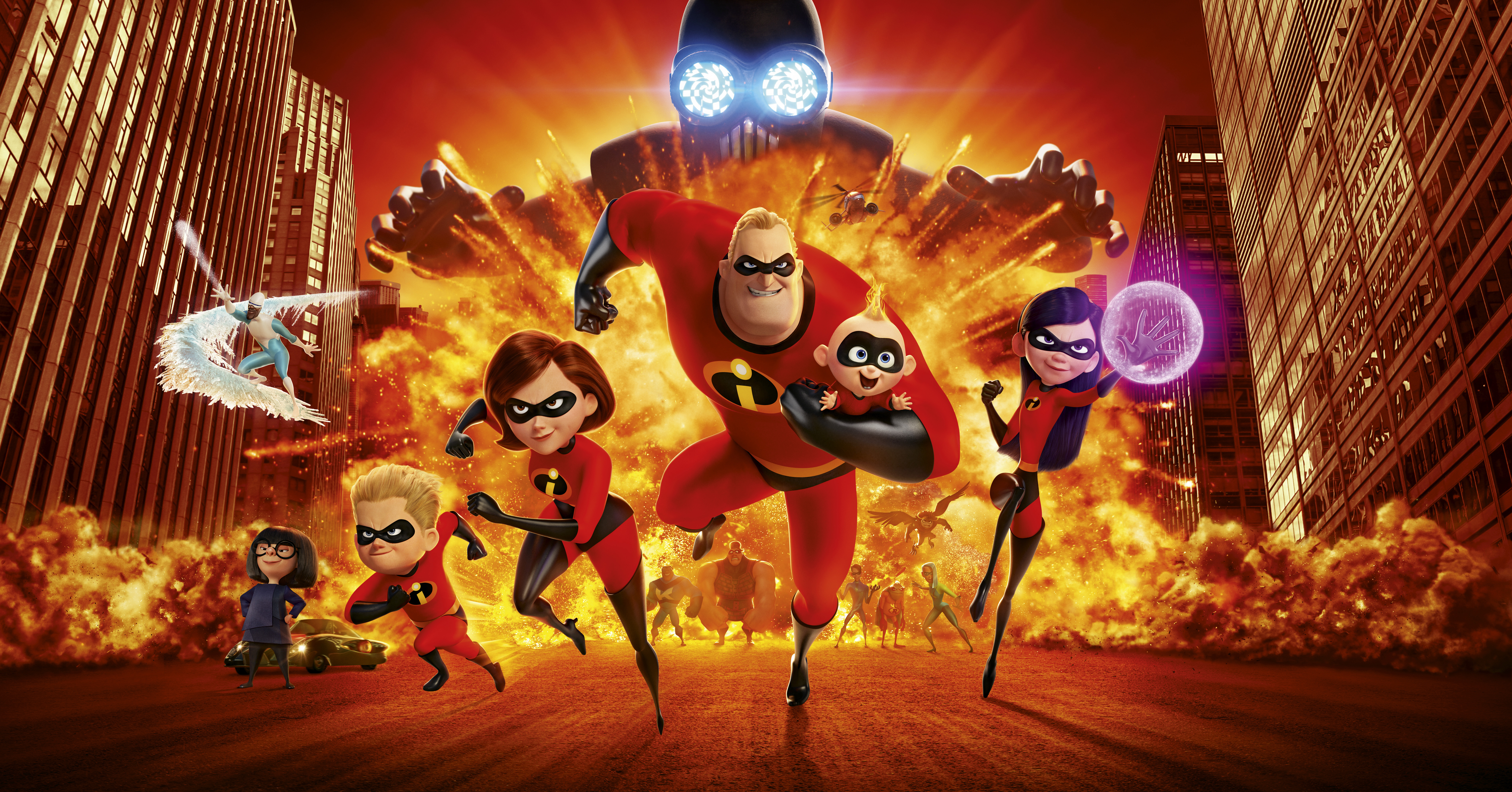 the incredibles 2 10k, hd movies, 4k wallpapers, images, backgrounds