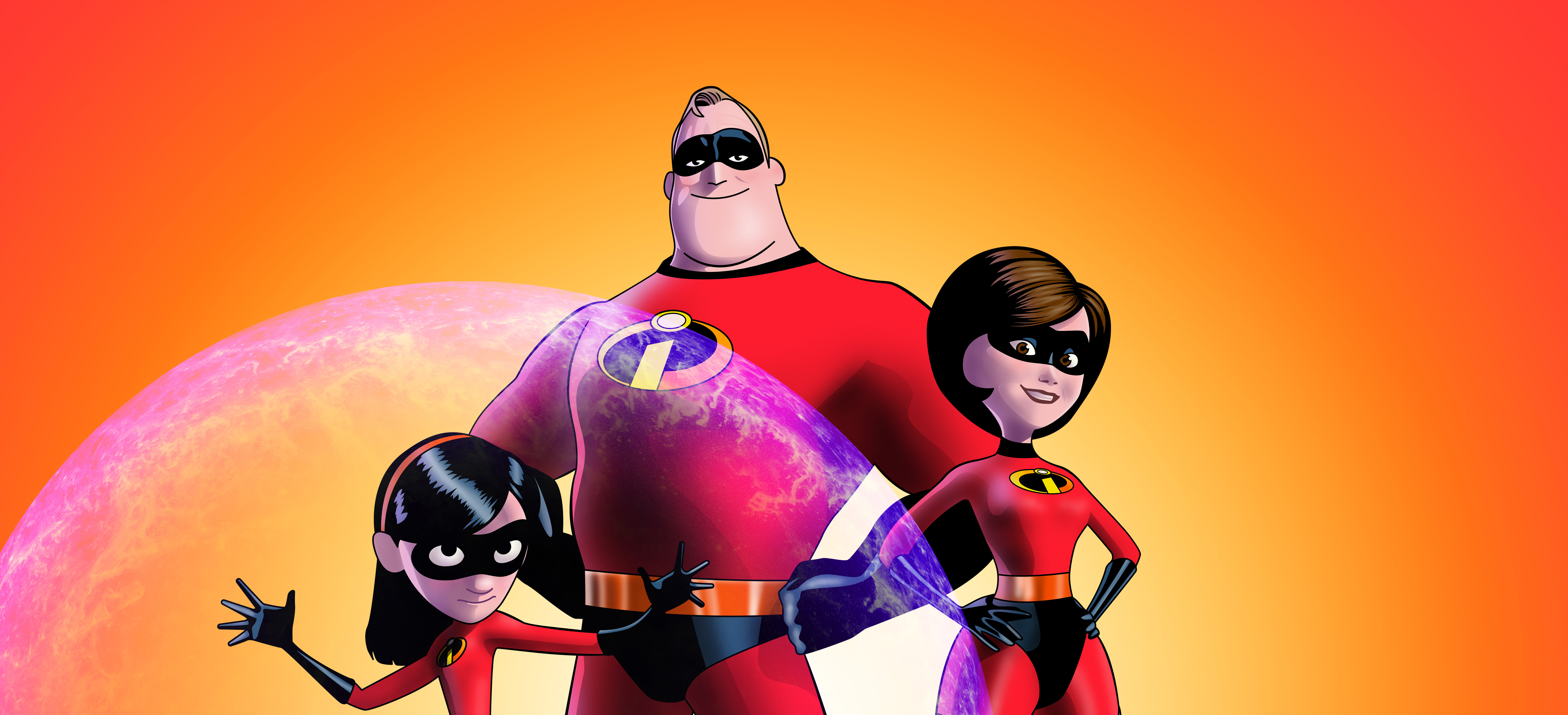 the incredibles 2 5k artwork, hd movies, 4k wallpapers, images