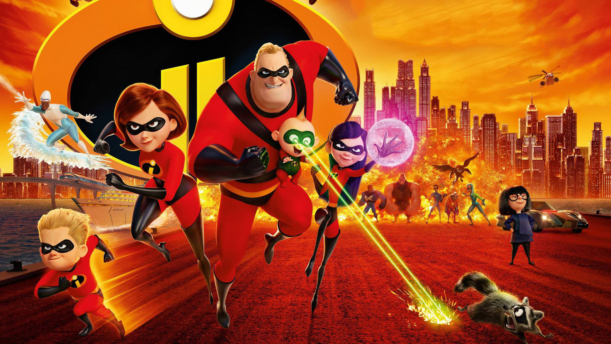 The Incredibles 2 Movie 2018, HD Movies, 4k Wallpapers