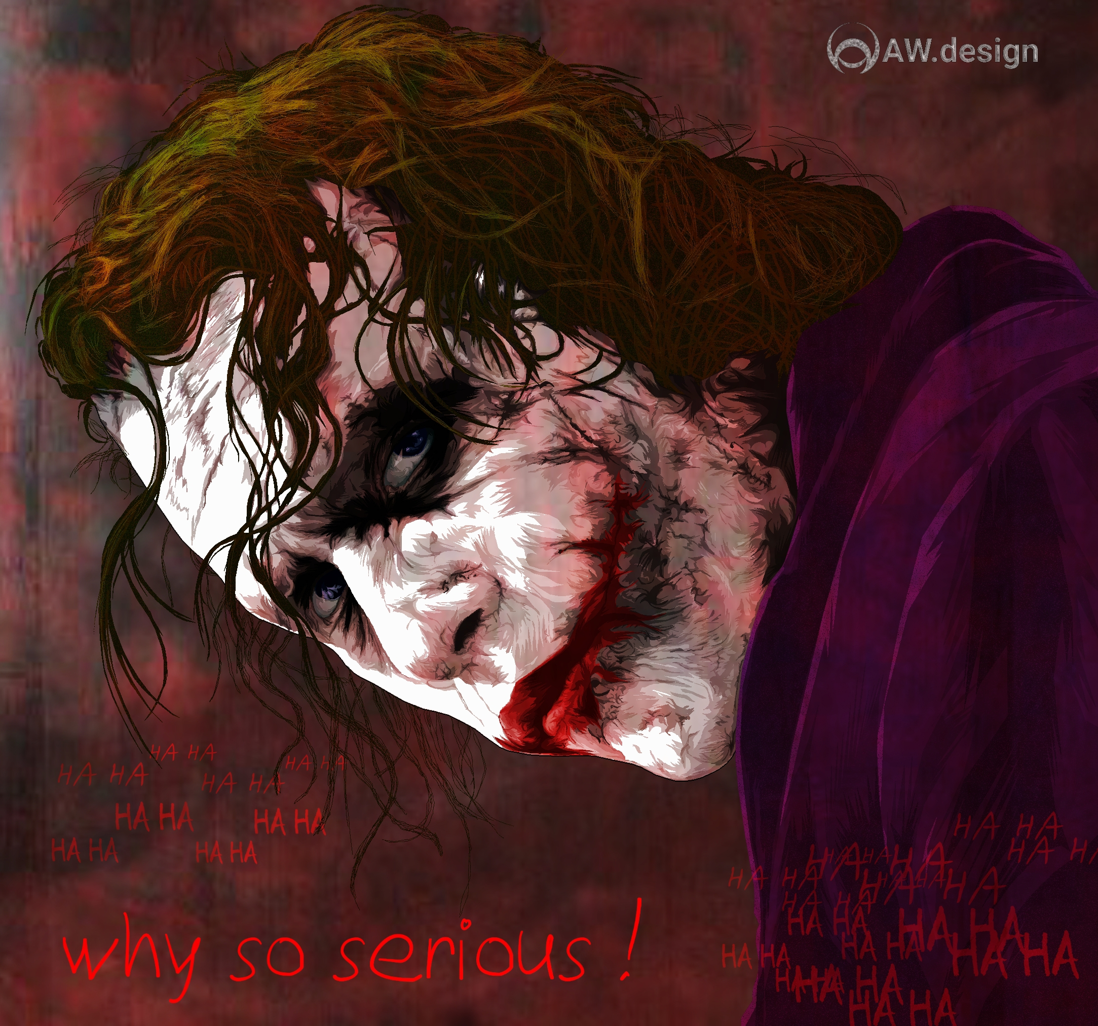 The Joker Vector Art Hd Superheroes 4k Wallpapers Images