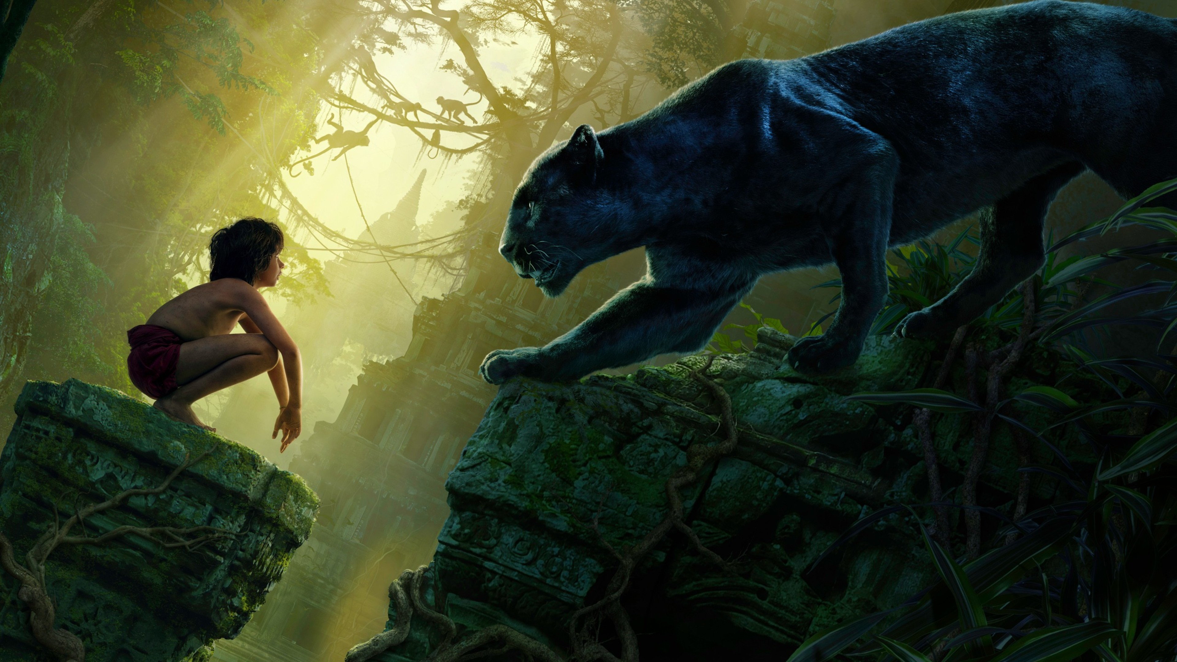 the jungle book hd, hd movies, 4k wallpapers, images, backgrounds