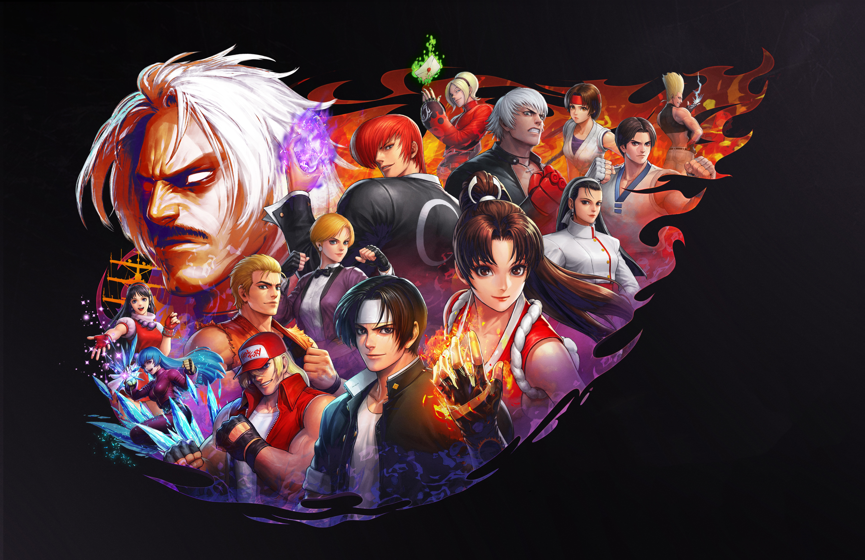 The King Of Fighters All Star Hd Games 4k Wallpapers