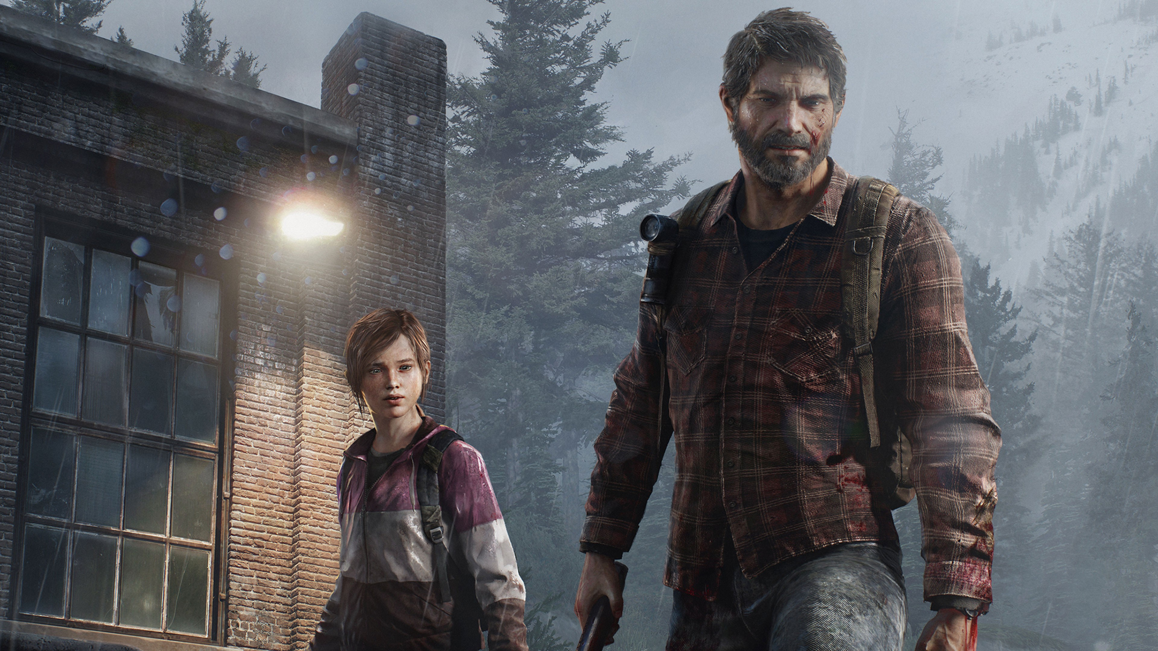 The Last Of Us Joel Eliie, HD Games, 4k Wallpapers, Images