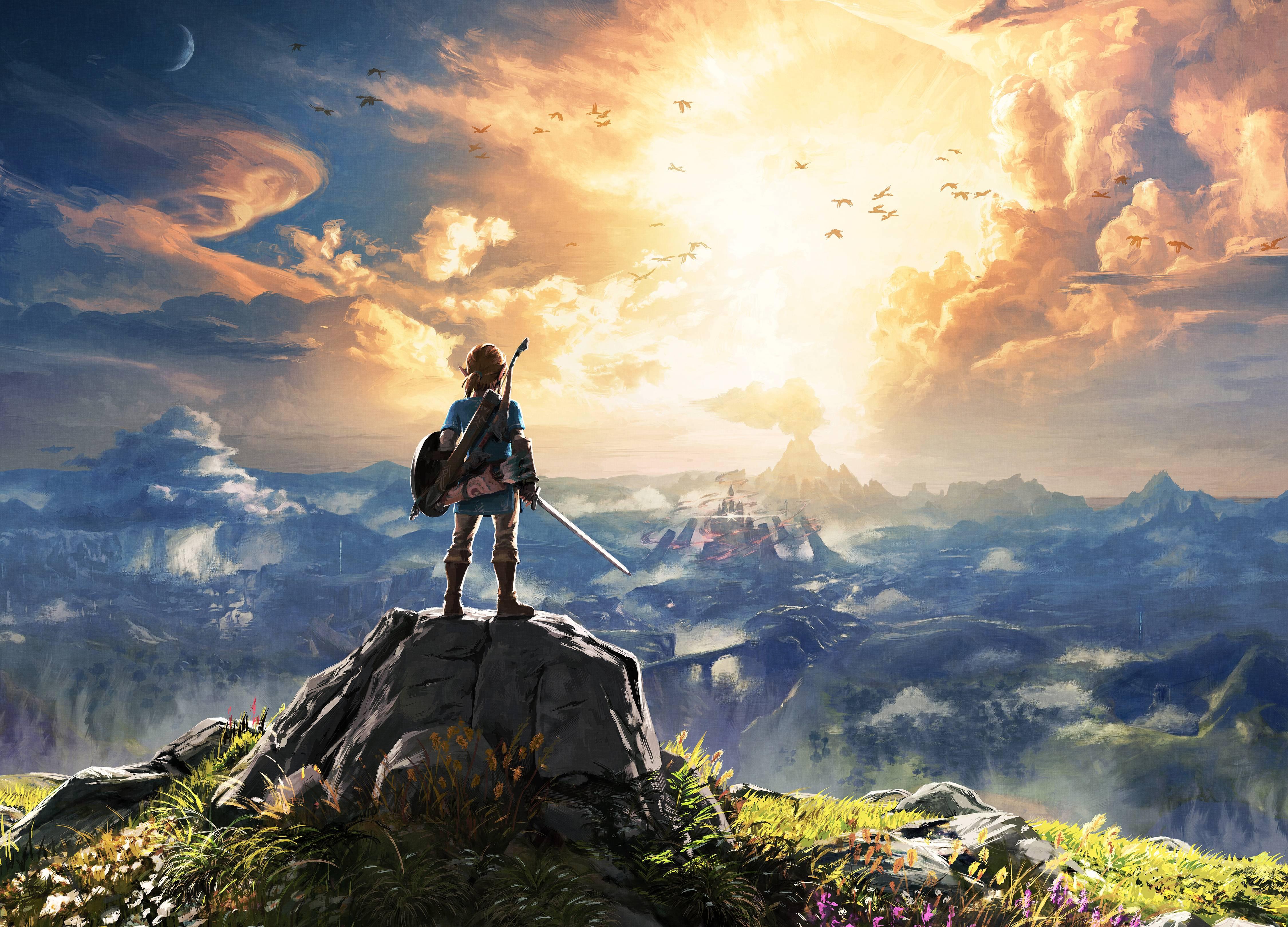 The Legend Of Zelda Breath Of The Wild 4k, HD Games, 4k
