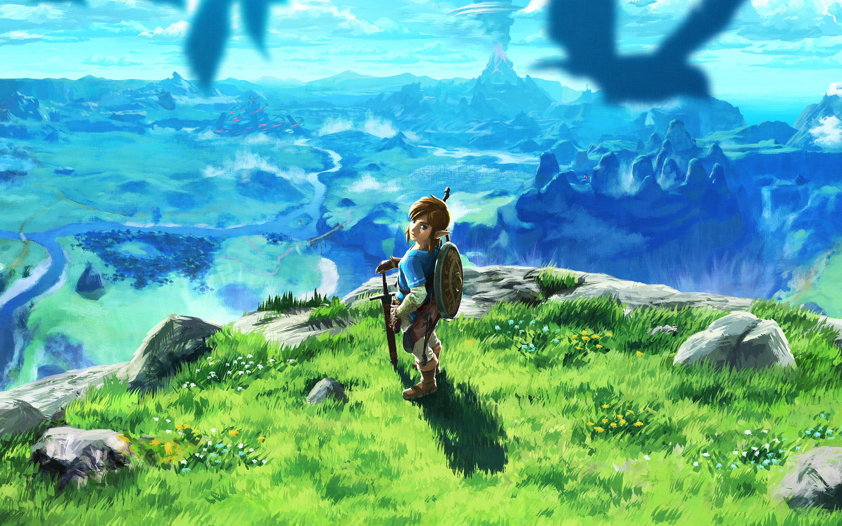 the legend of zelda breath of the wilk 2017 game, hd games, 4k