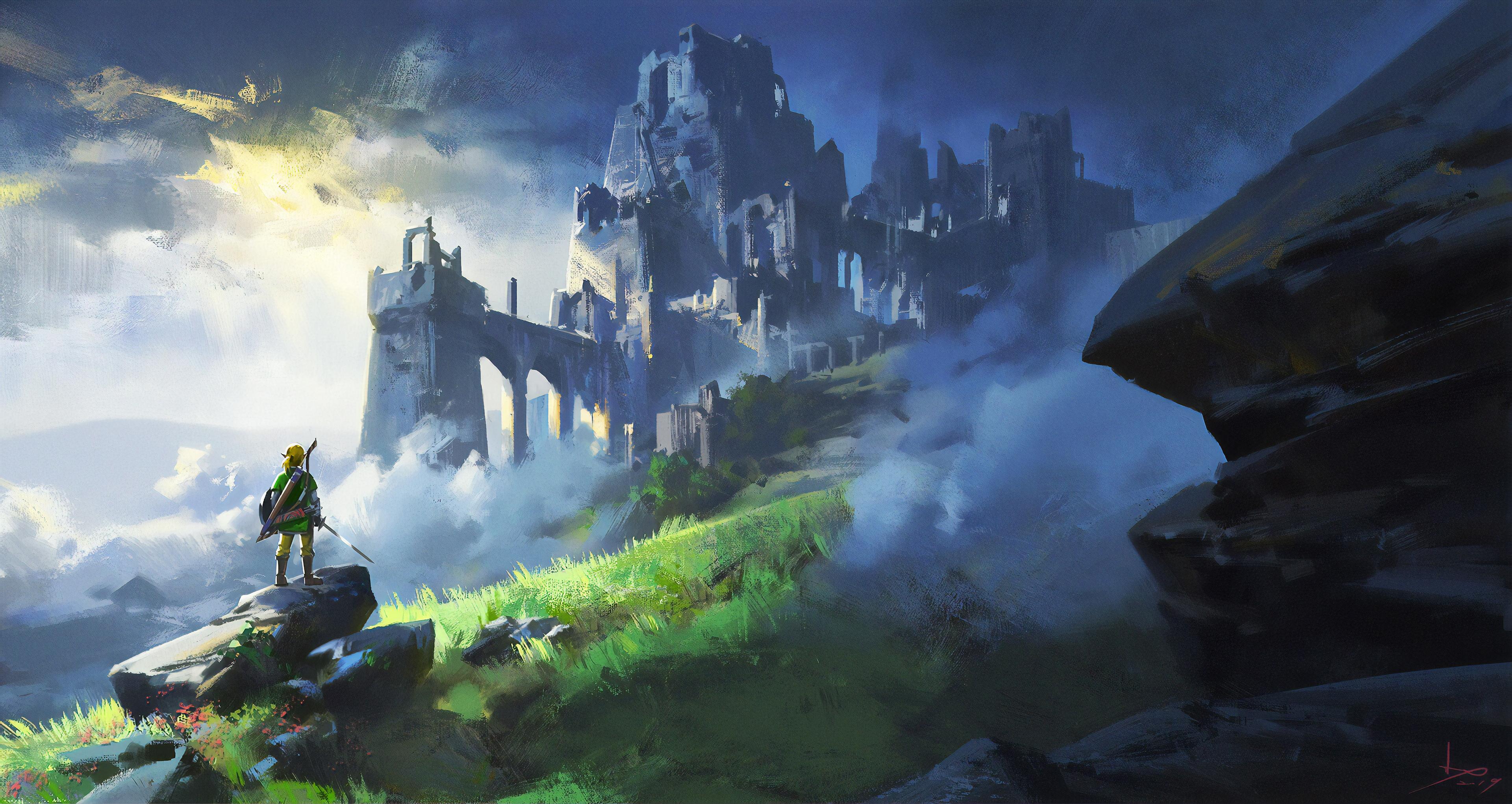 The Legend Of Zelda Breath Of Wild Game 4k Hd Games 4k