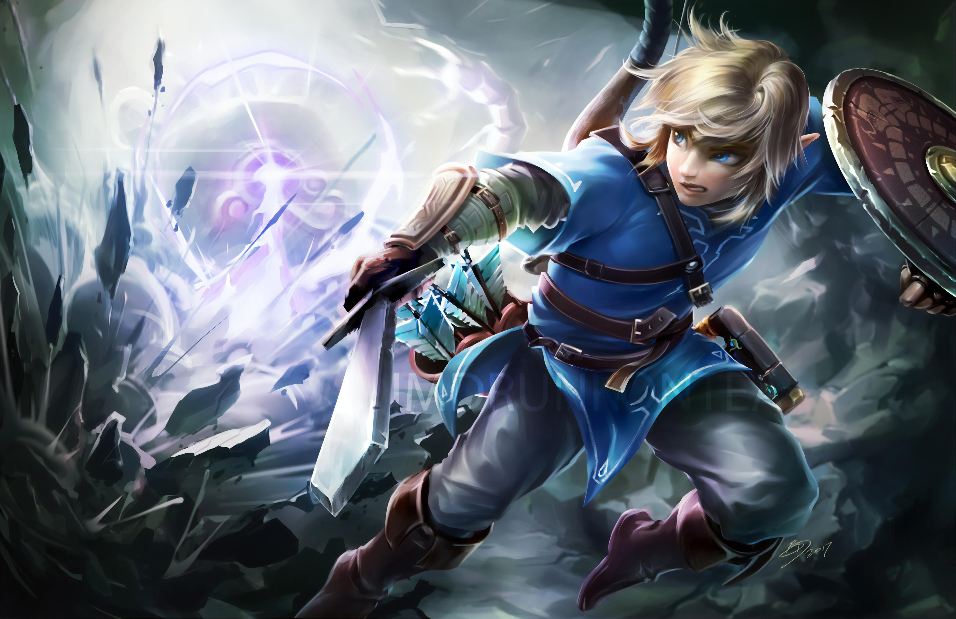 The Legend Of Zelda Breath Of Wild, HD Games, 4k ...