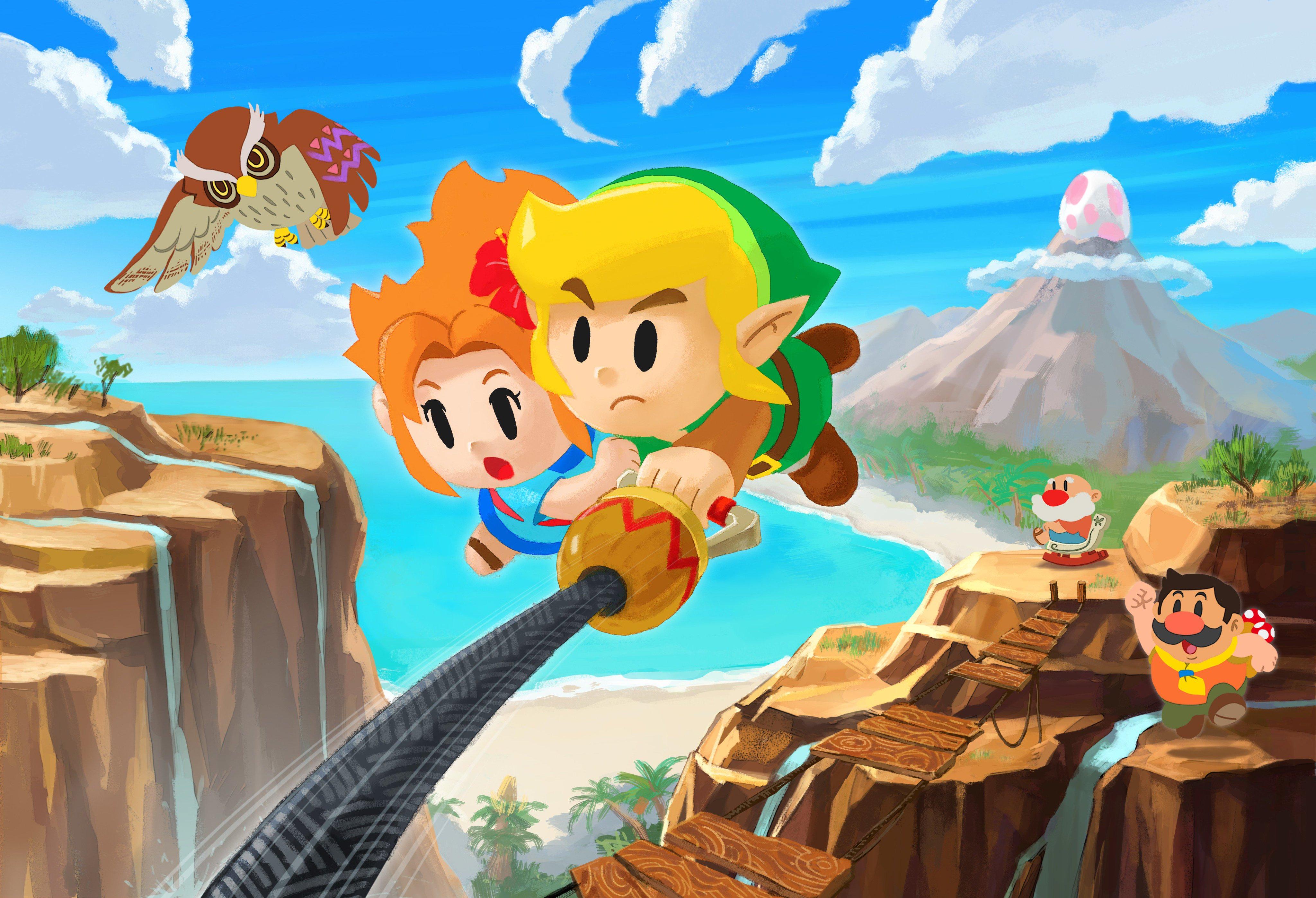 The Legend Of Zelda Links Awakening, HD Games, 4k ...