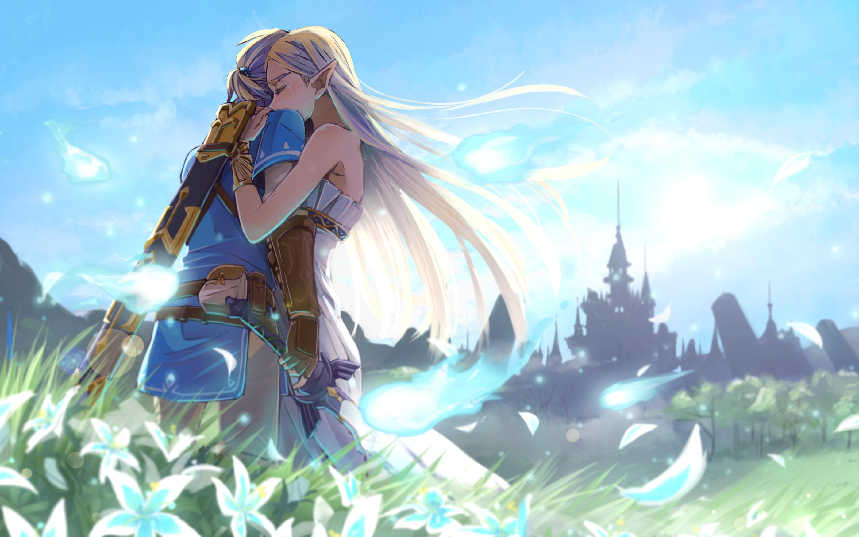 The Legend Of Zelda Romantic Love Artwork, HD Games, 4k ...
