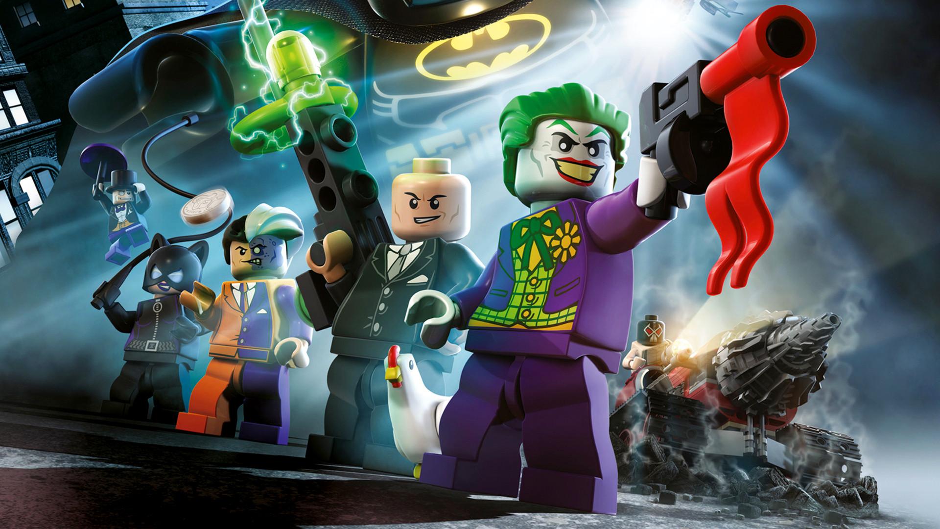 The Lego Batman Joker Army