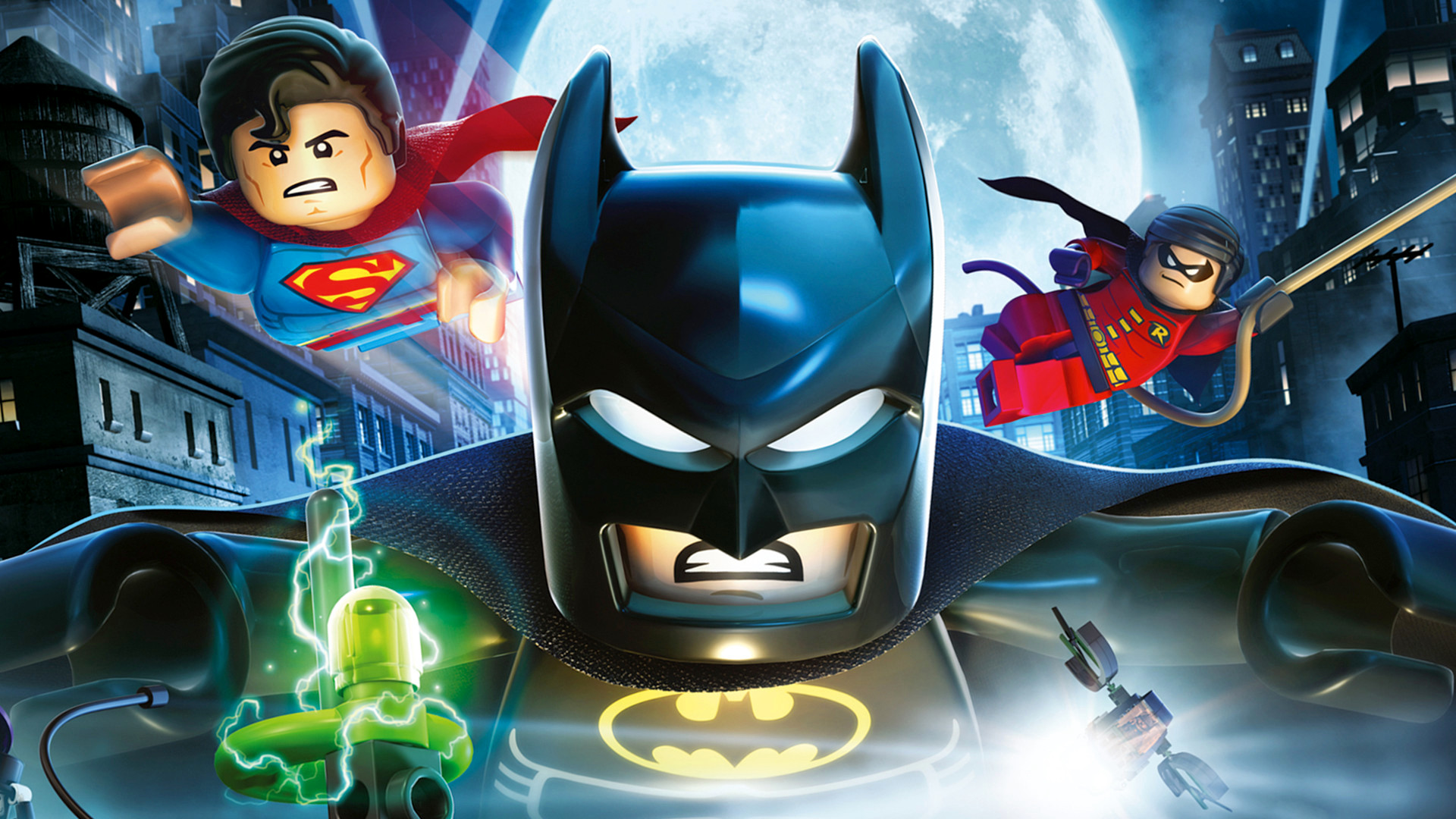 1600x900 The Lego Batman Superman And Robin 1600x900 Resolution Hd