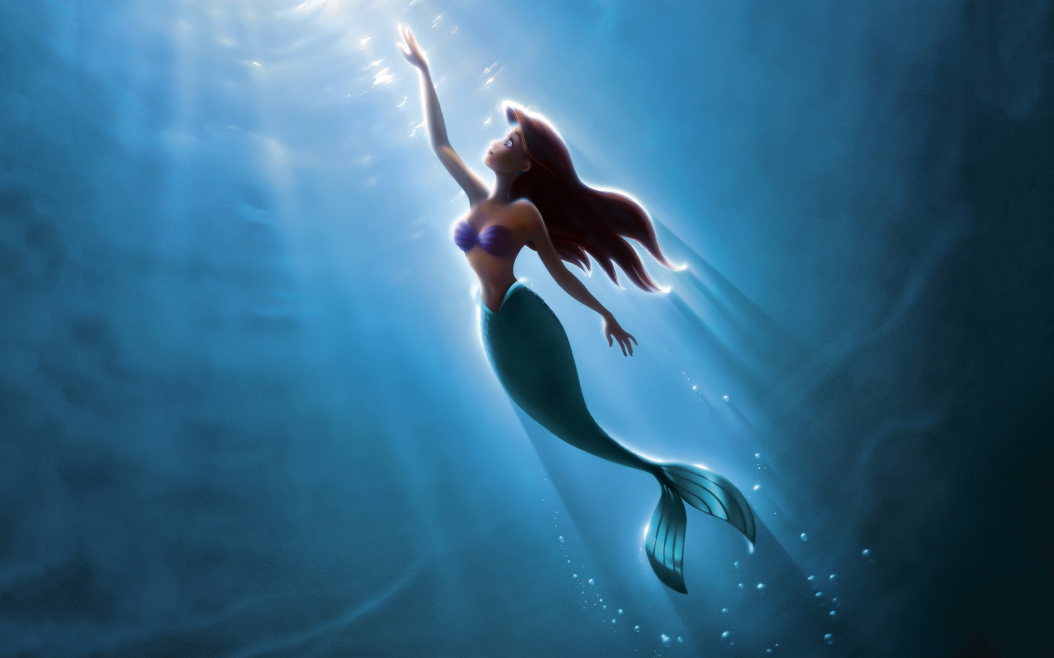 the little mermaid 4k, hd movies, 4k wallpapers, images, backgrounds