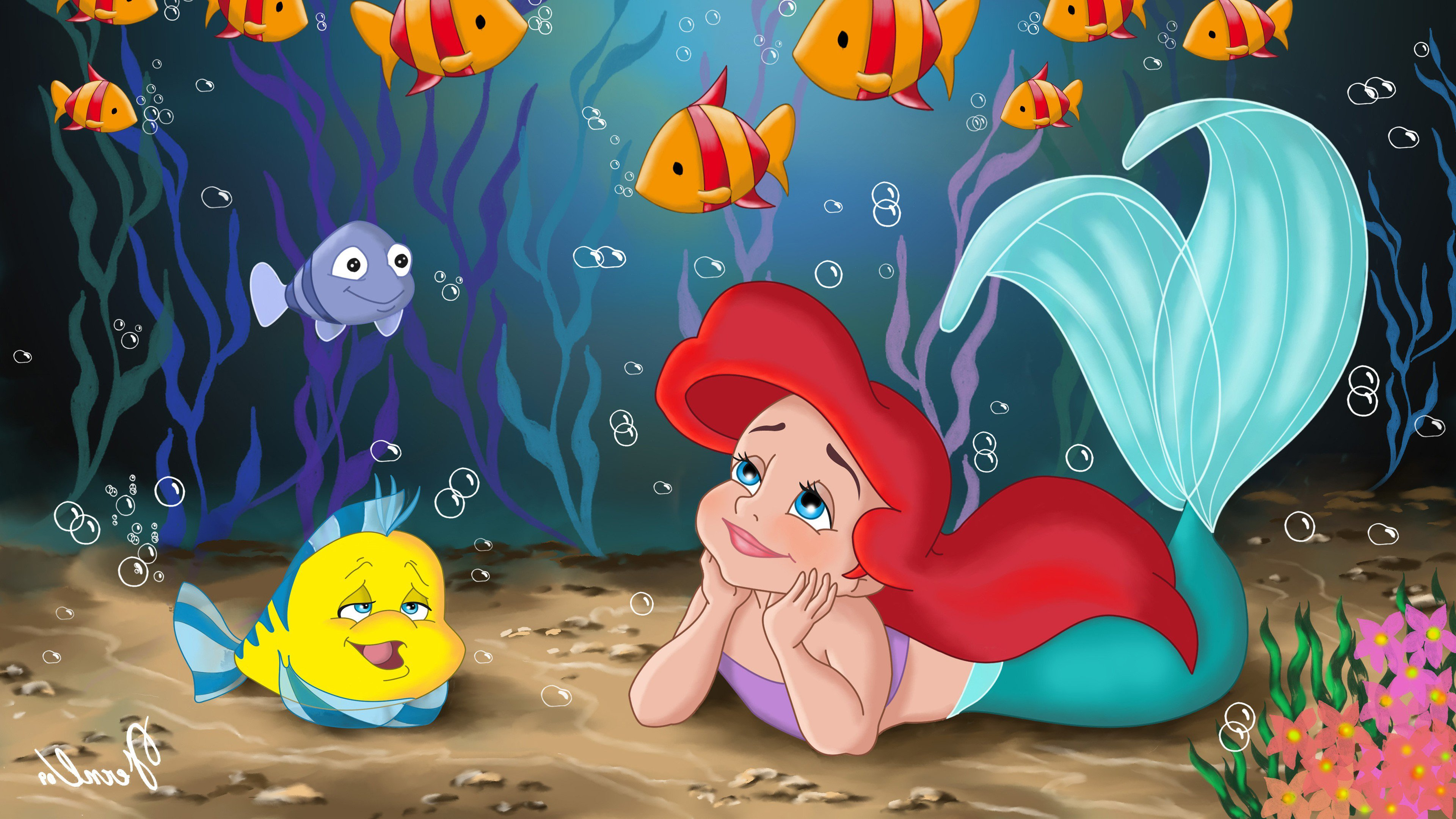 The Little Mermaid Hd Movies 4k Wallpapers Images