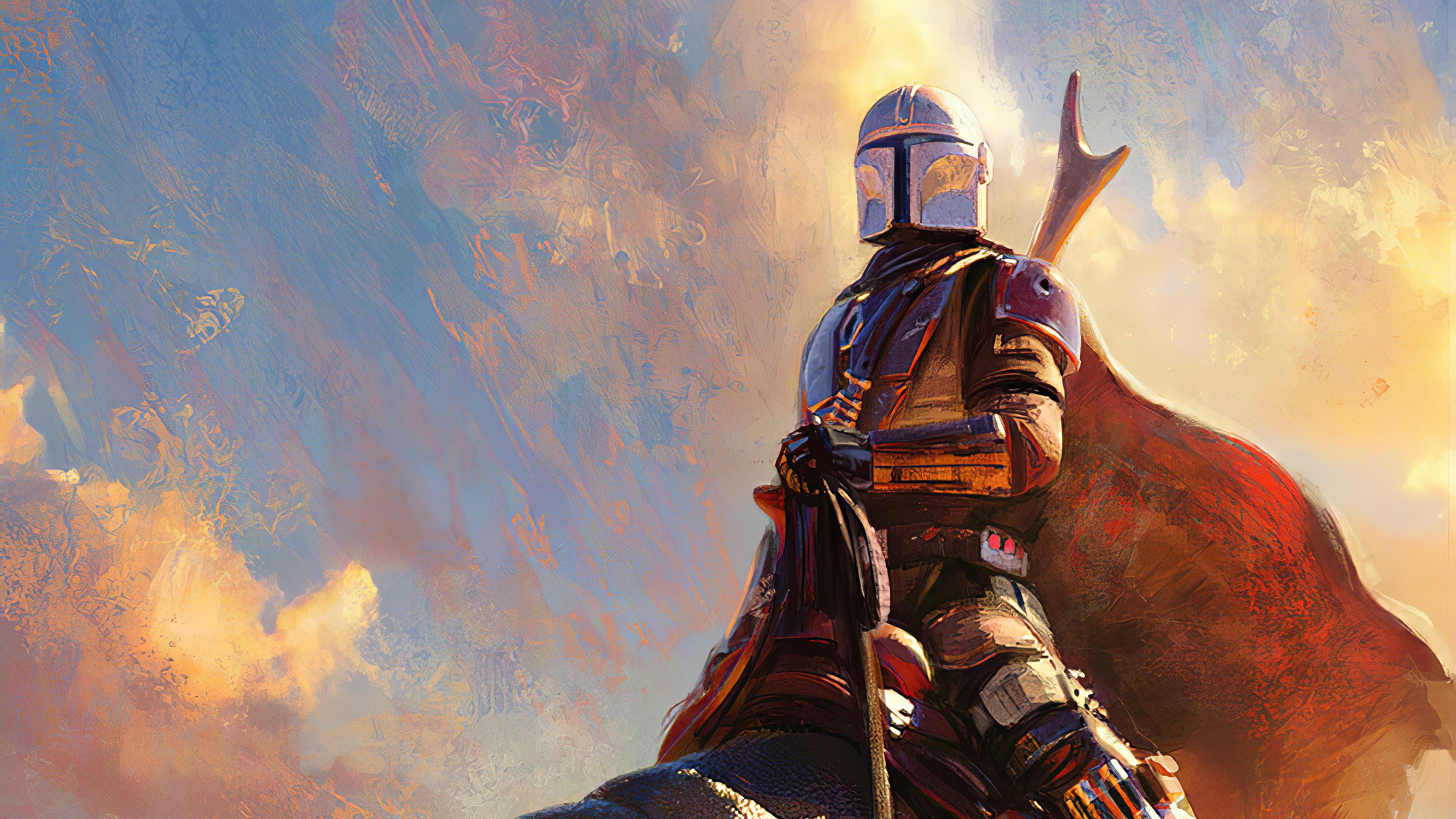 Star Wars Mandalorian Wallpaper 4k