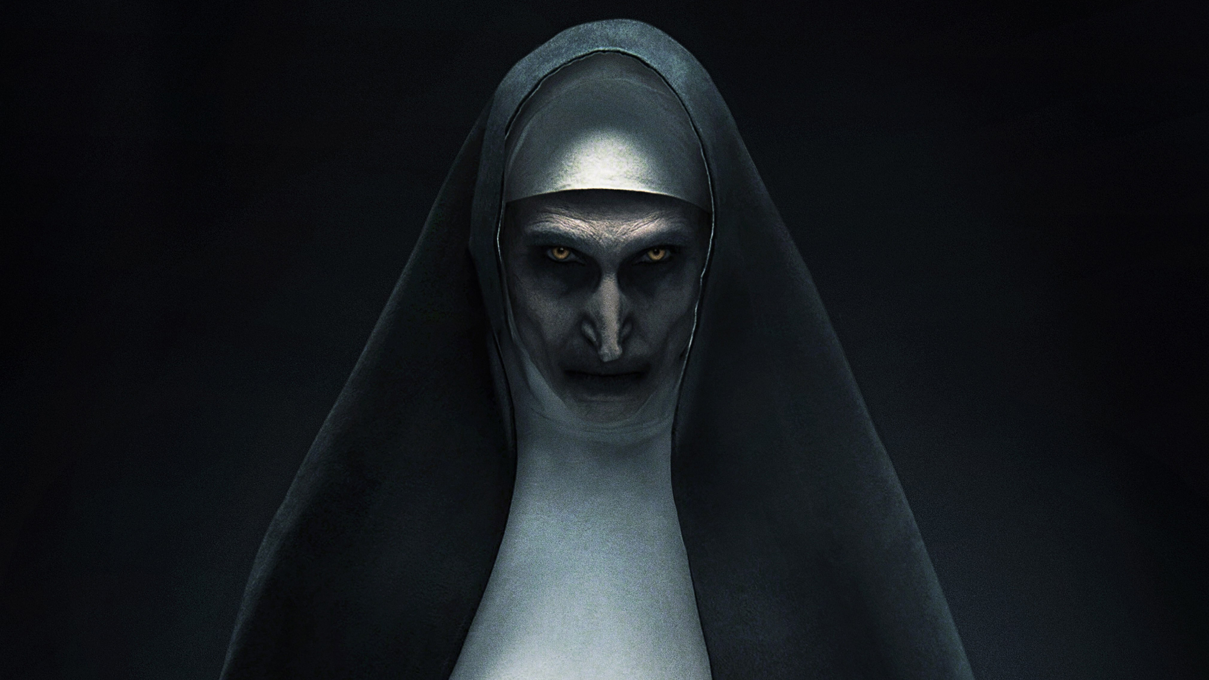 the nun movie  hd movies  4k wallpapers  images