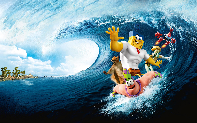 group of 1336x768 hd spongebob wallpapers