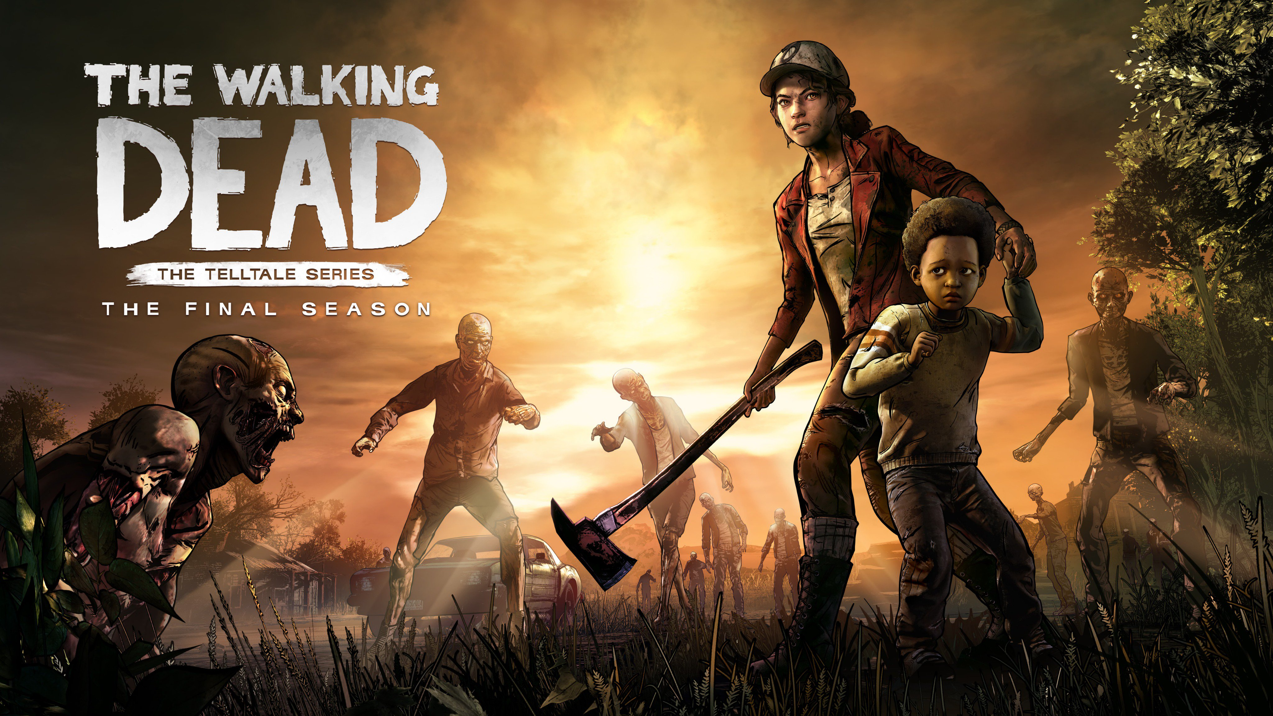 The Walking Dead The Final Season 4k Hd Games 4k Wallpapers