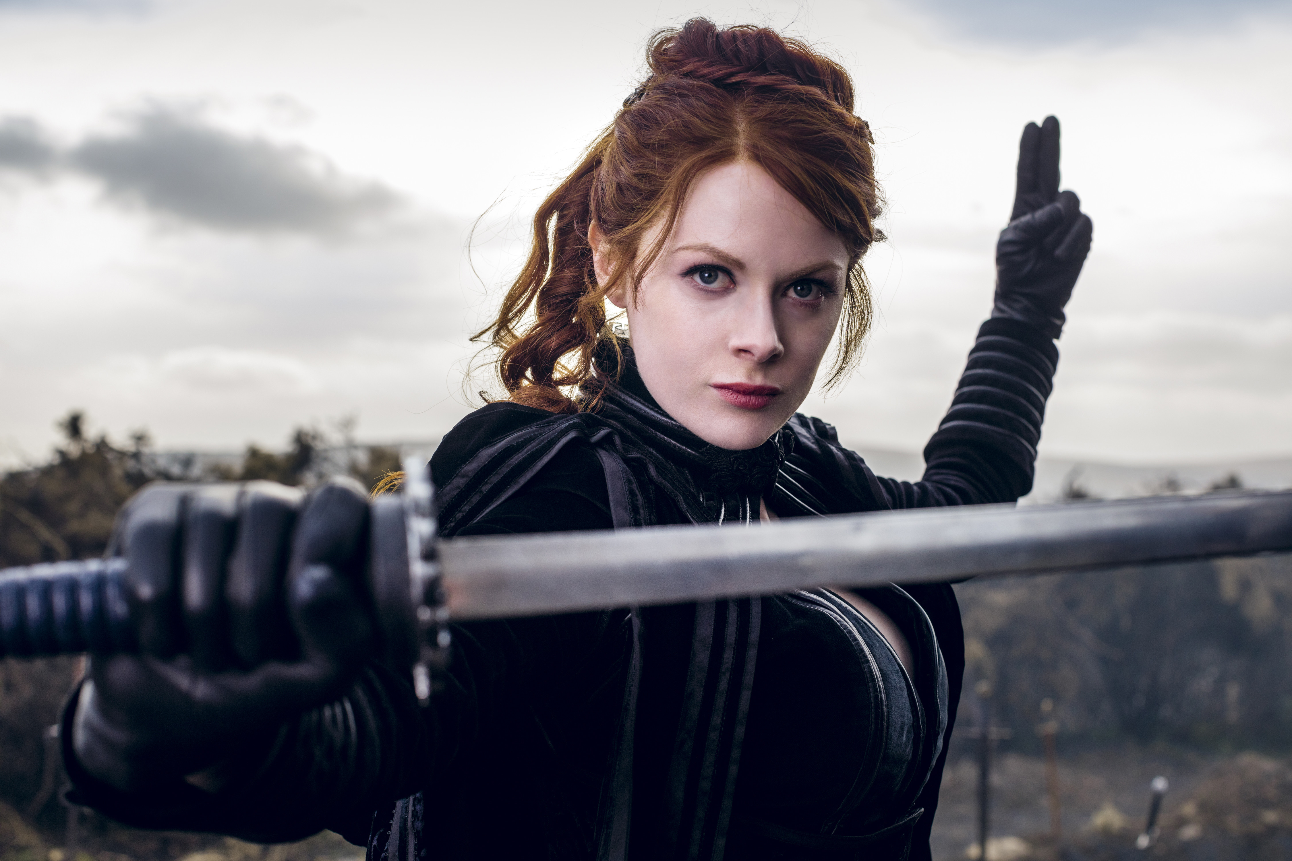 The Widow In Into Badlands