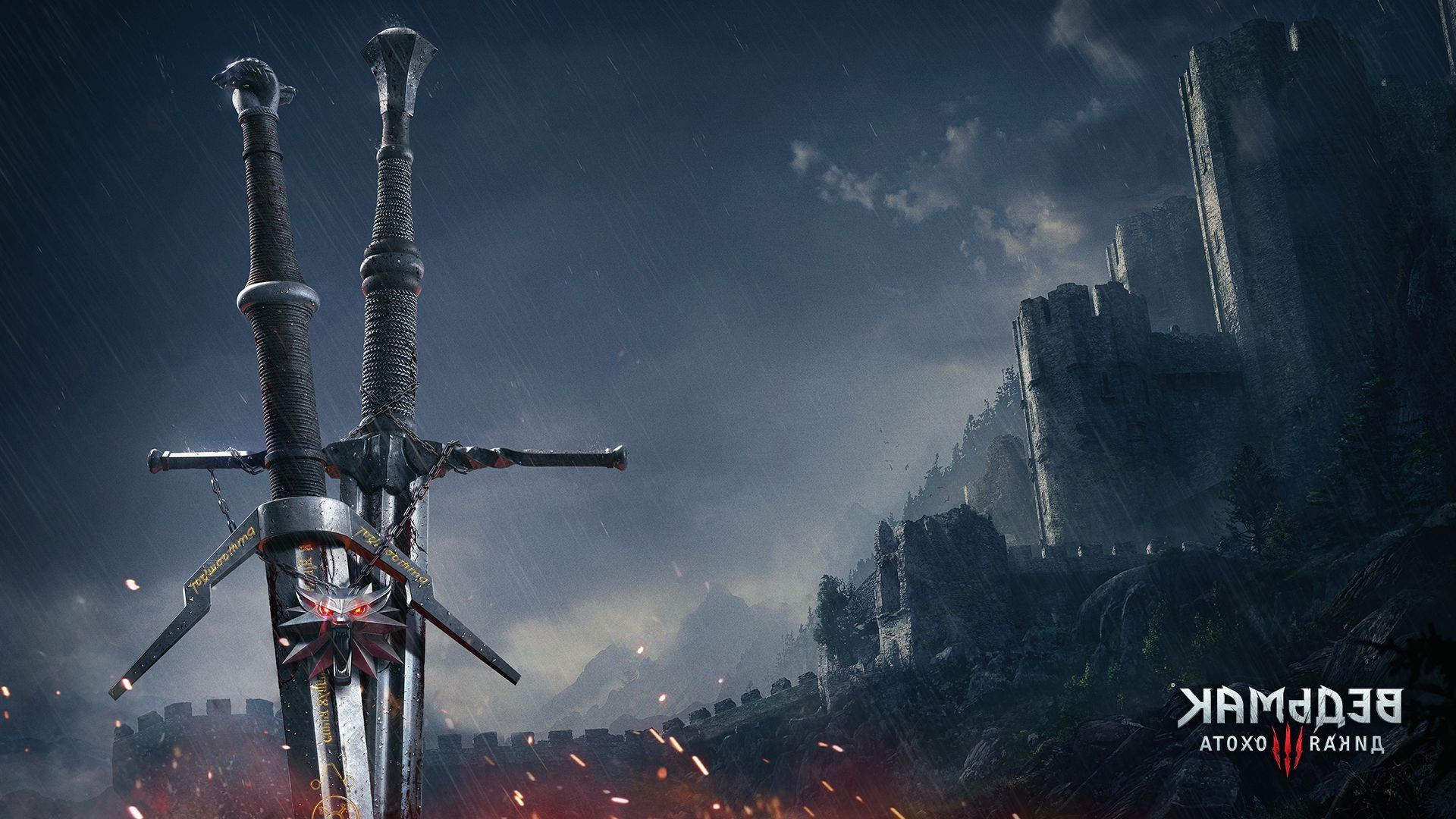 2048x1152 the witcher 3 sword 2048x1152 resolution hd 4k