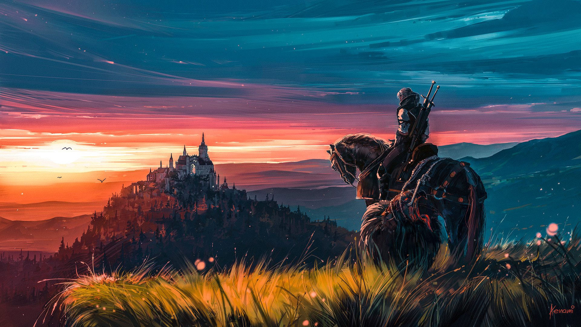 The Witcher 3 Wild Hunt Fanart, HD Games, 4k Wallpapers