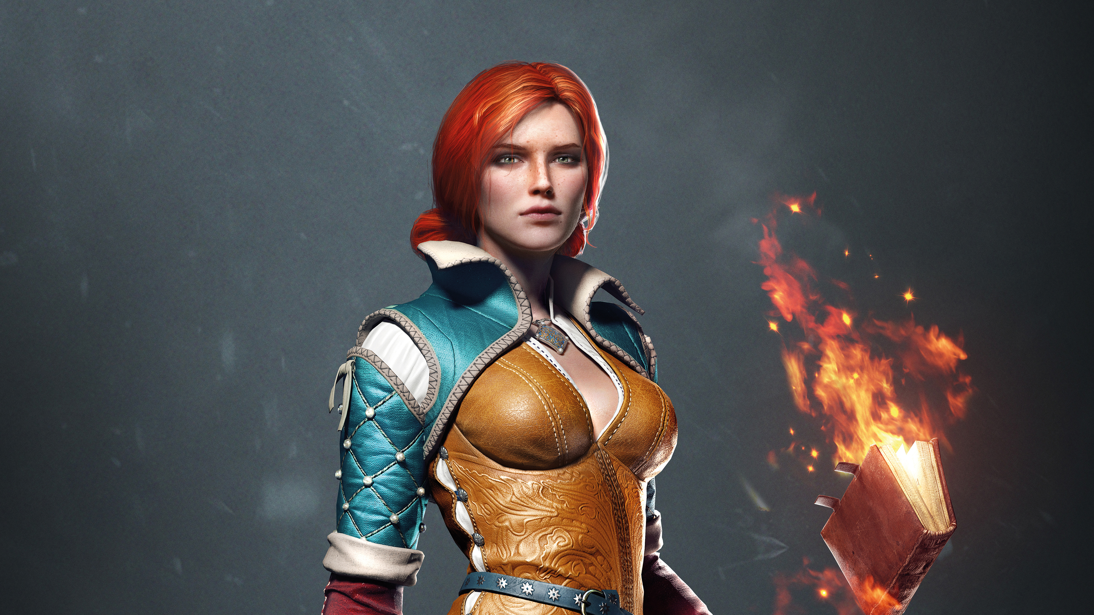 The Witcher 3 Wild Hunt Triss 4k Hd Games 4k Wallpapers